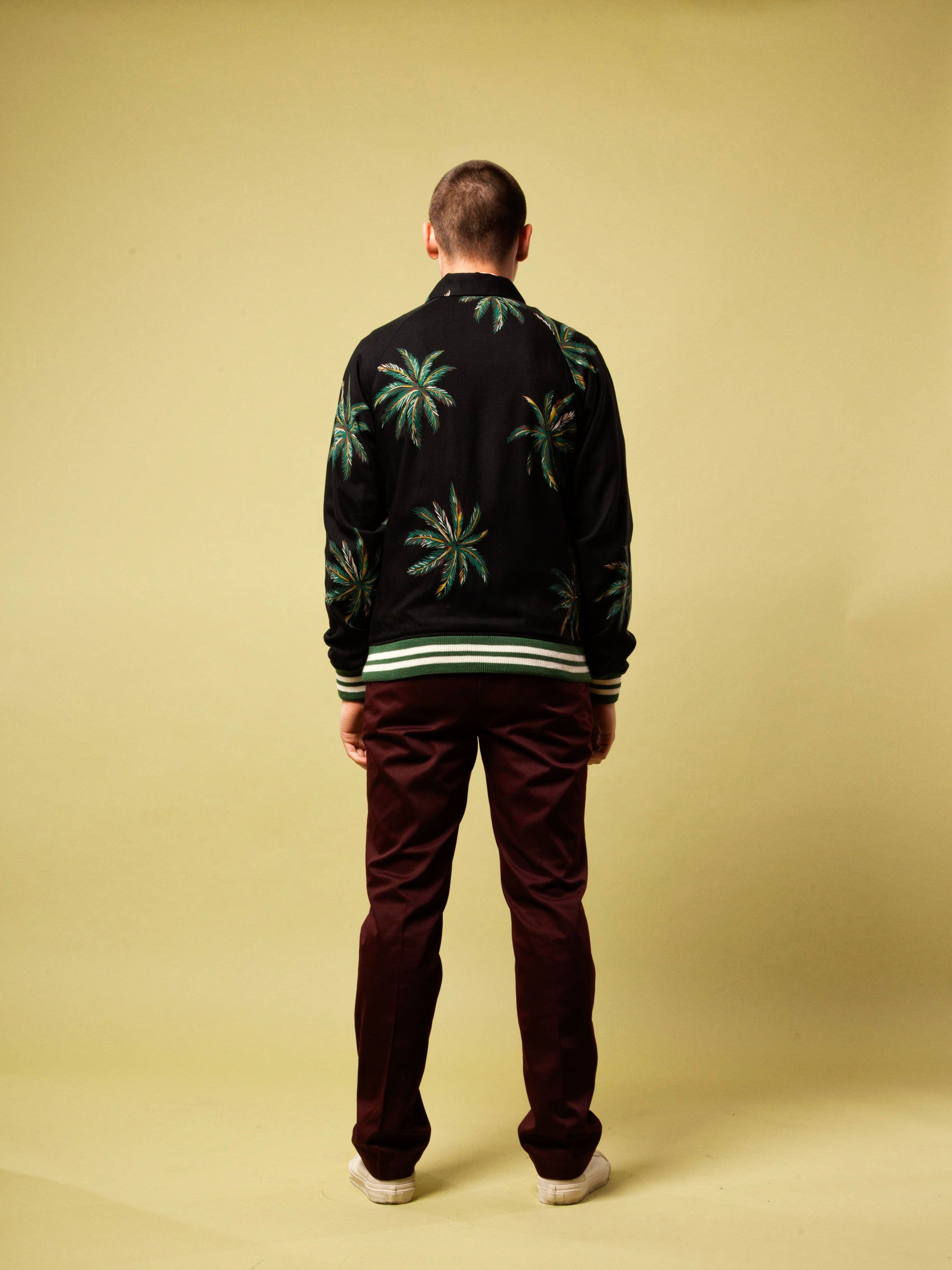 Black Sports Jacket (Palms) 6