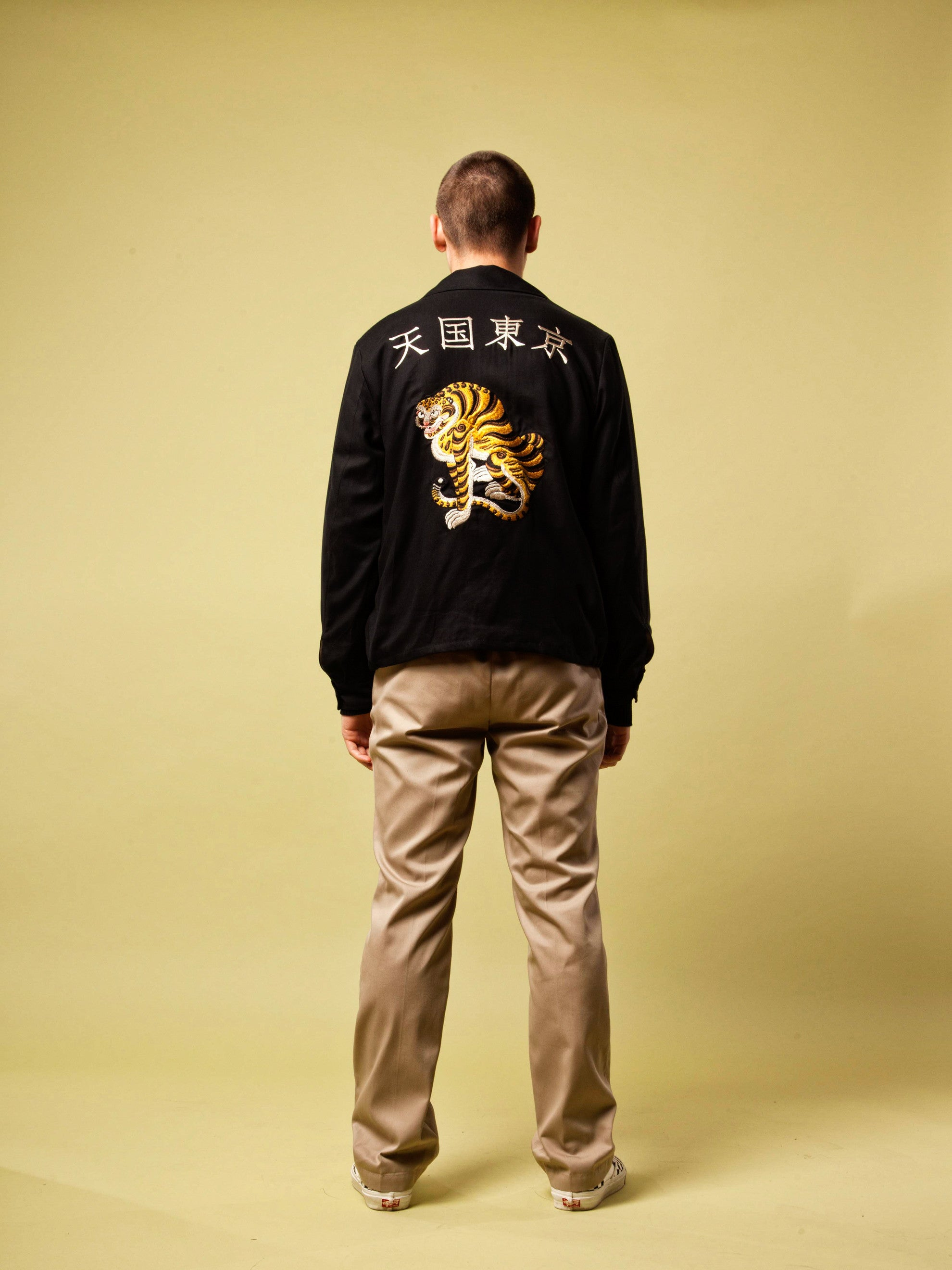 Black Vietnam Jacket 5