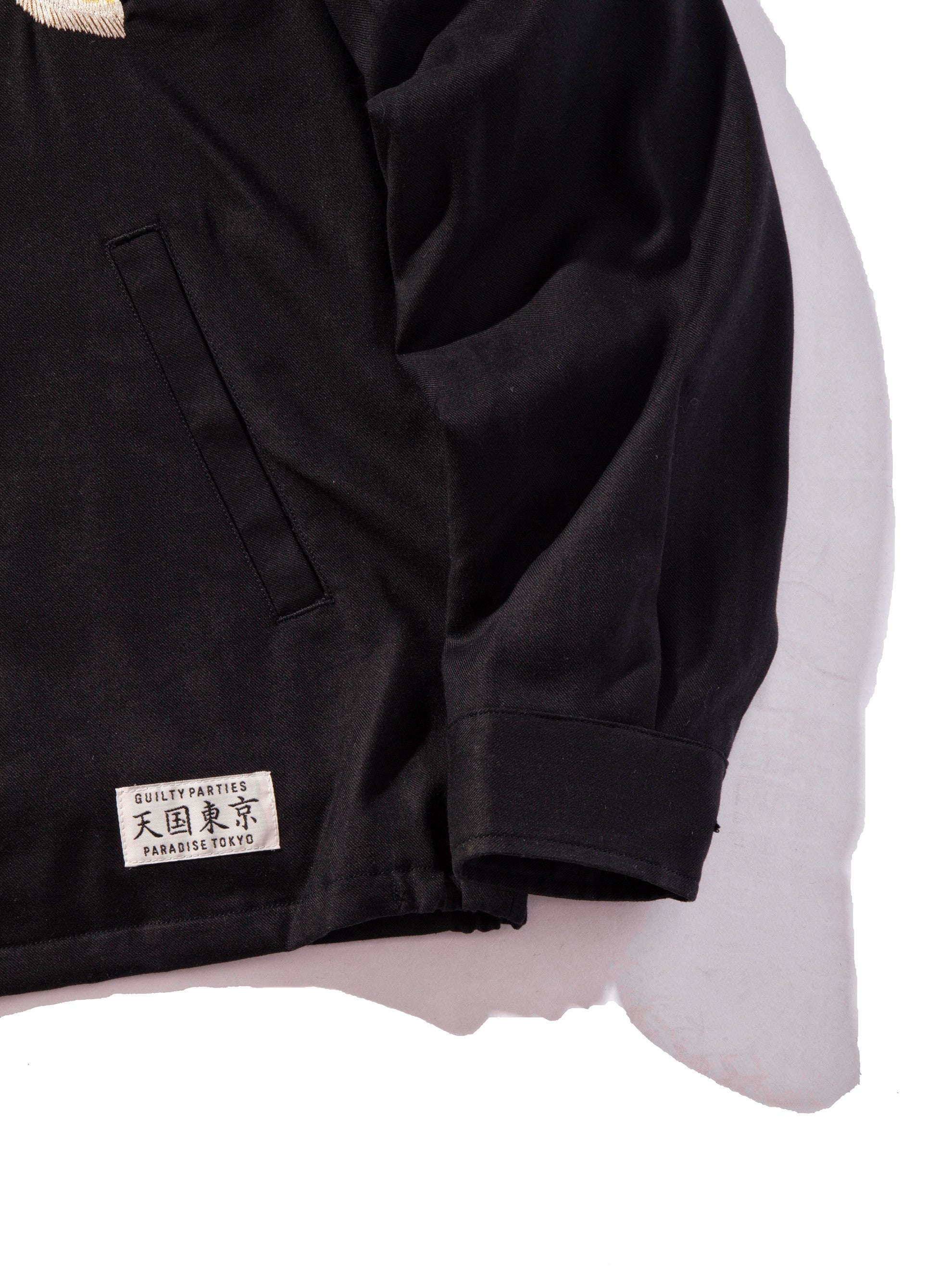 Black Vietnam Jacket 9