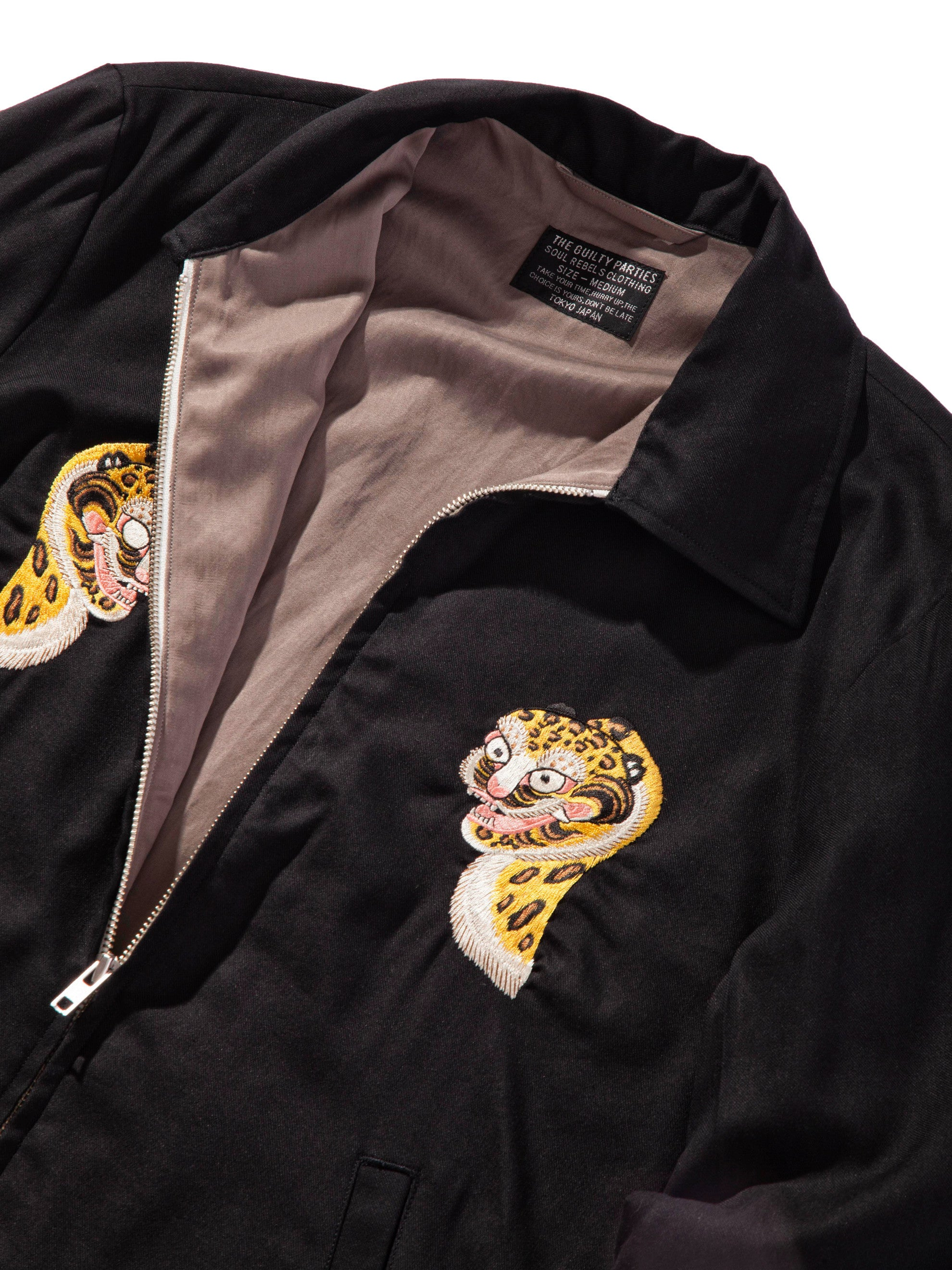 Black Vietnam Jacket 8