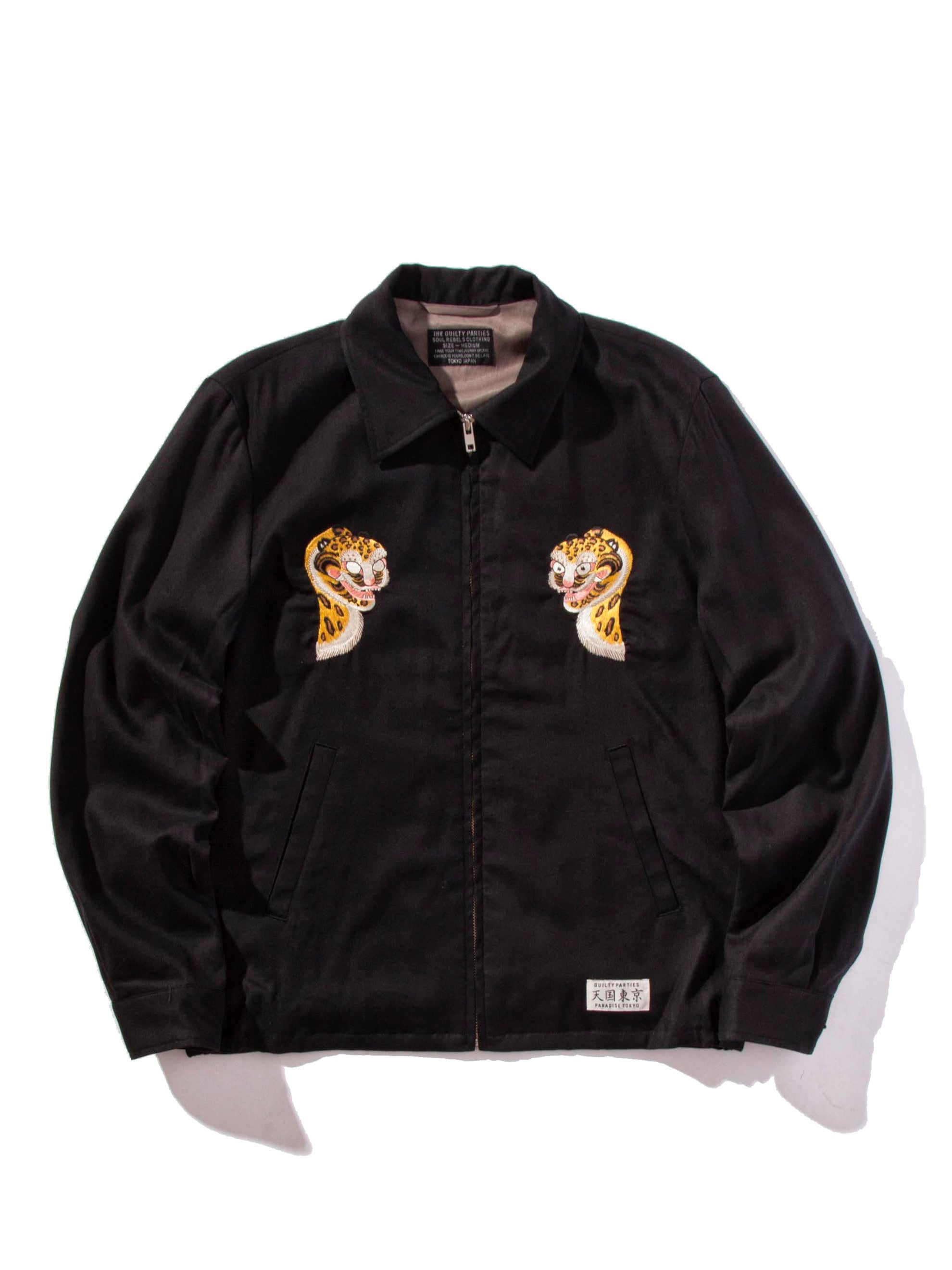Black Vietnam Jacket 6