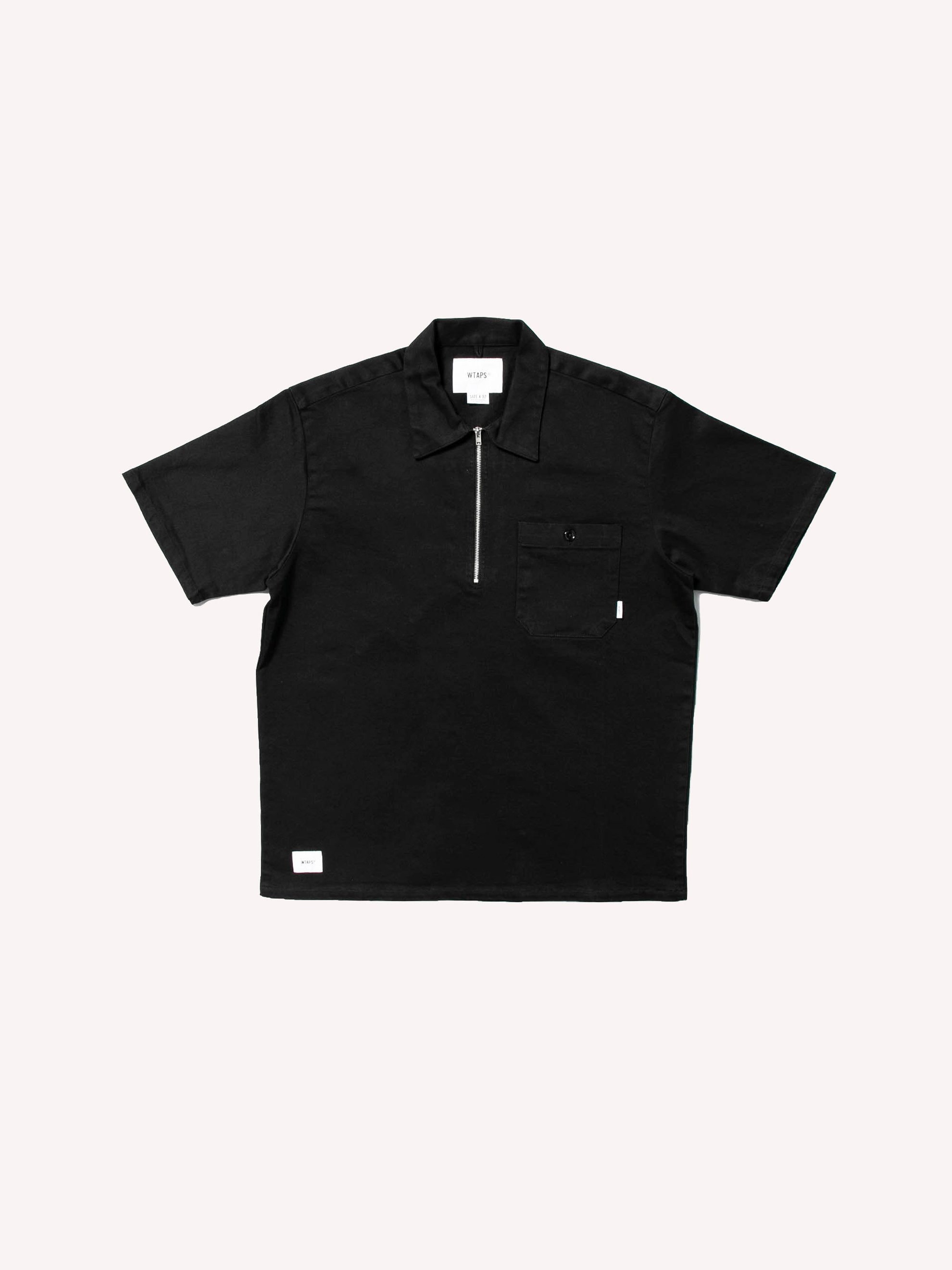 Black Cell SS / Shirt. Cotton. Twill 1