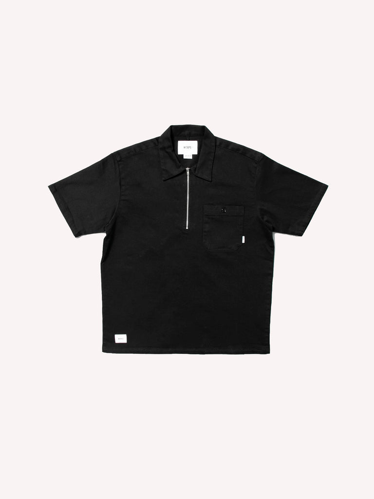 Cell SS / Shirt. Cotton. Twill