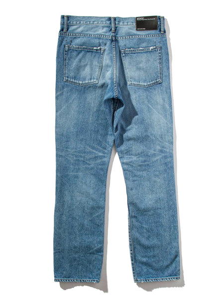 Buy Wtaps Blues Skinny Trash Denim Jeans Online At Union