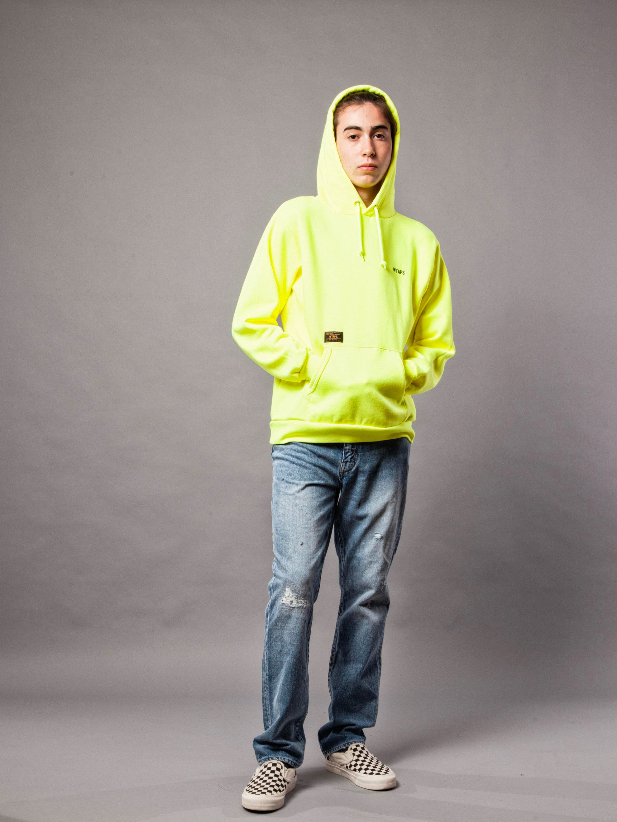 Yellow Hellweek Hooded SAR Sweatshirt 3