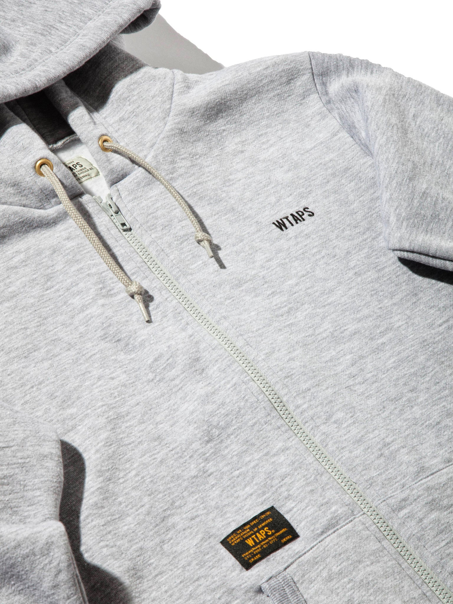Olive Drab Hellweek Zip Up WTVUA Sweatshirt 6