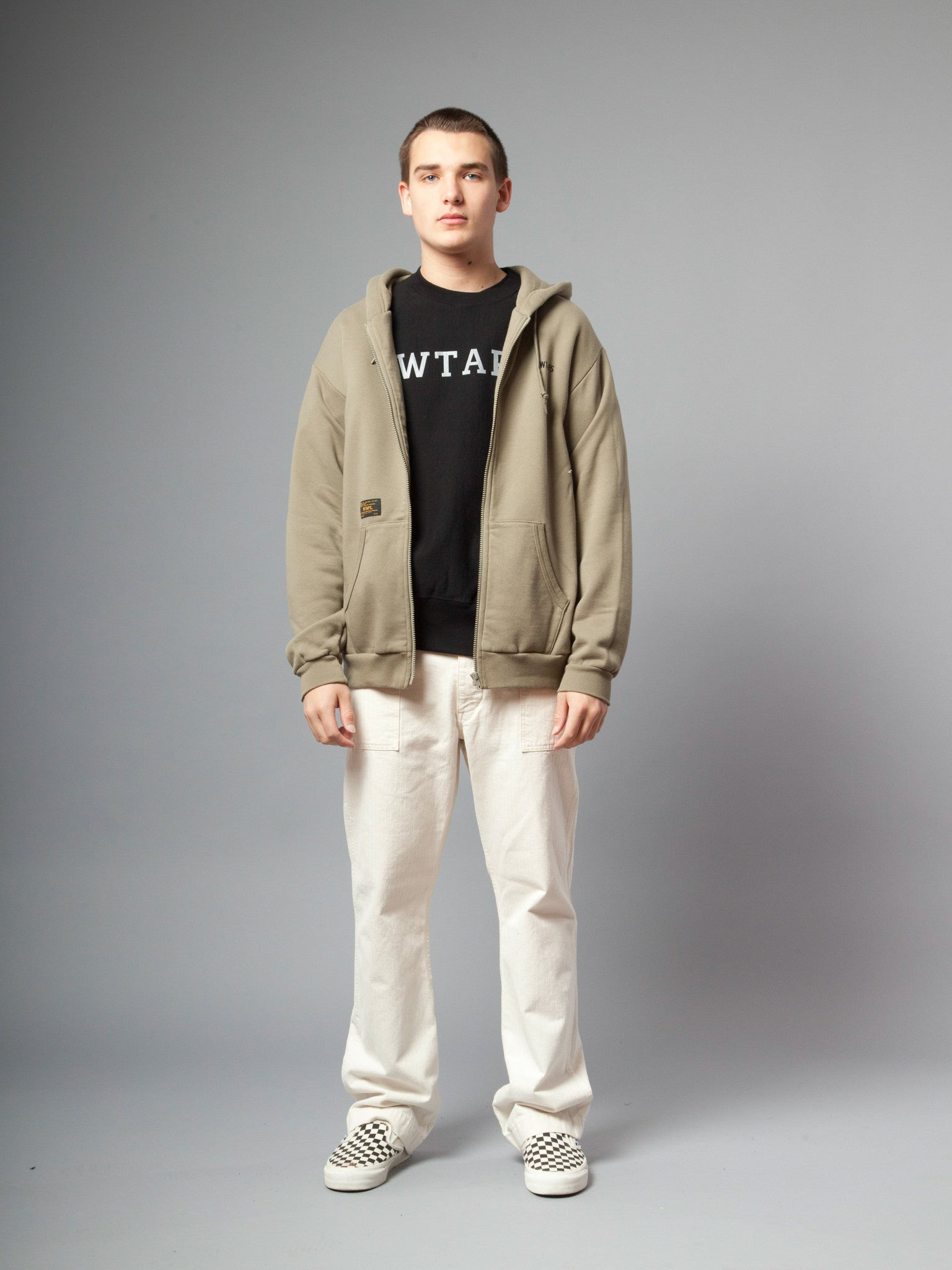 Grey Hellweek Zip Up WTVUA Sweatshirt 4