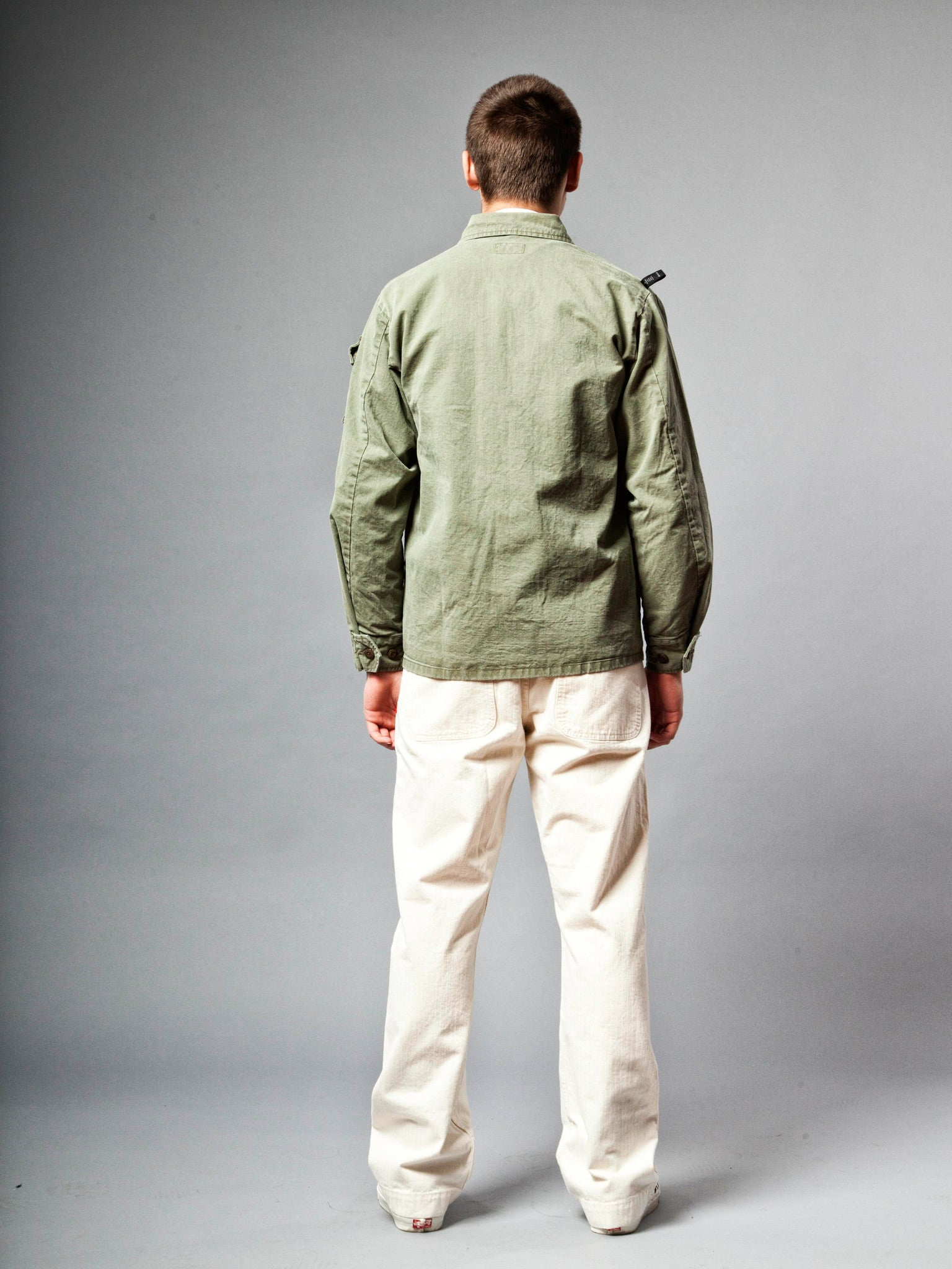 Olive Drab Jungle Shirt (Cotton Chino) 4