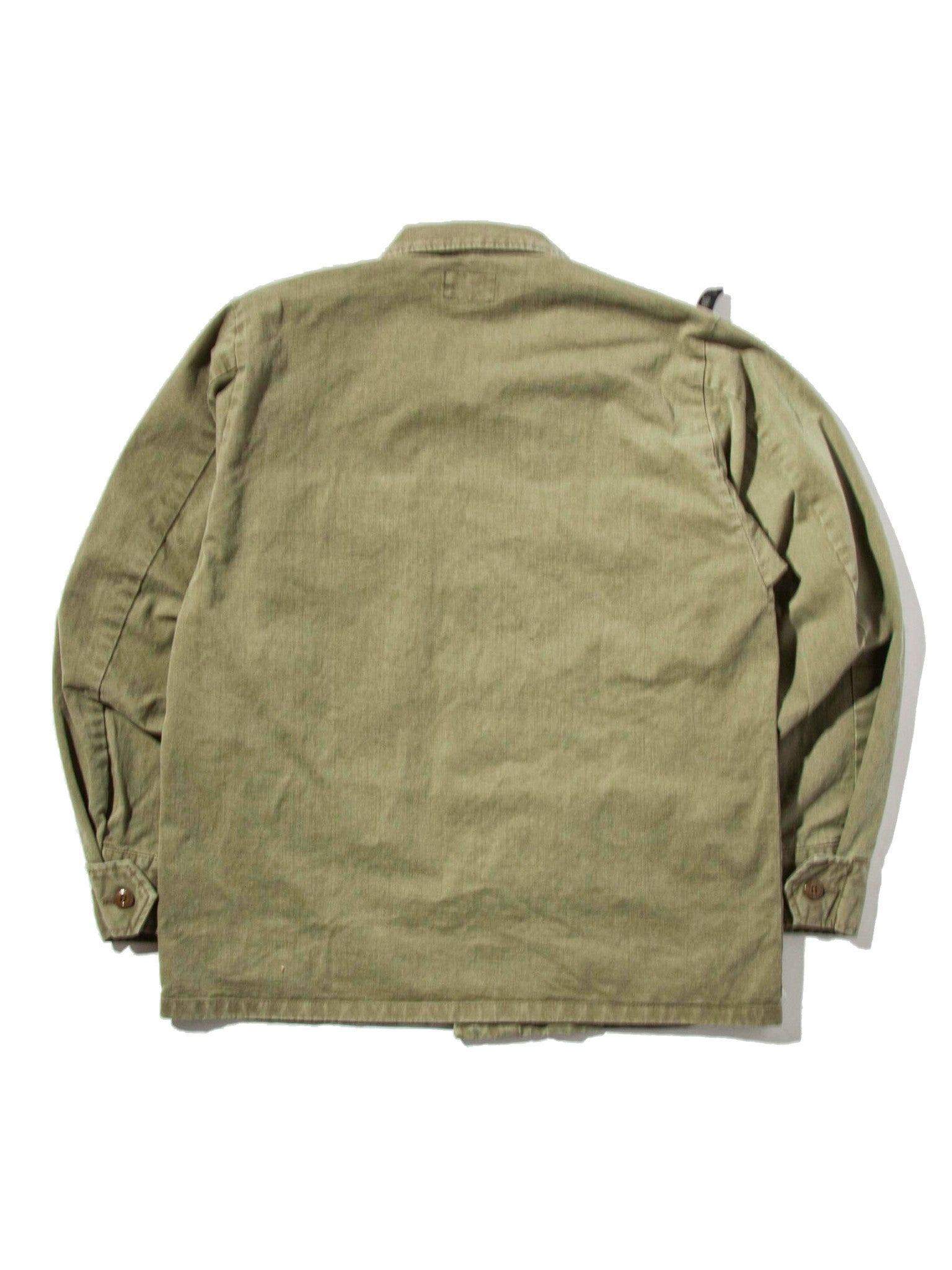 Olive Drab Jungle Shirt (Cotton Chino) 5