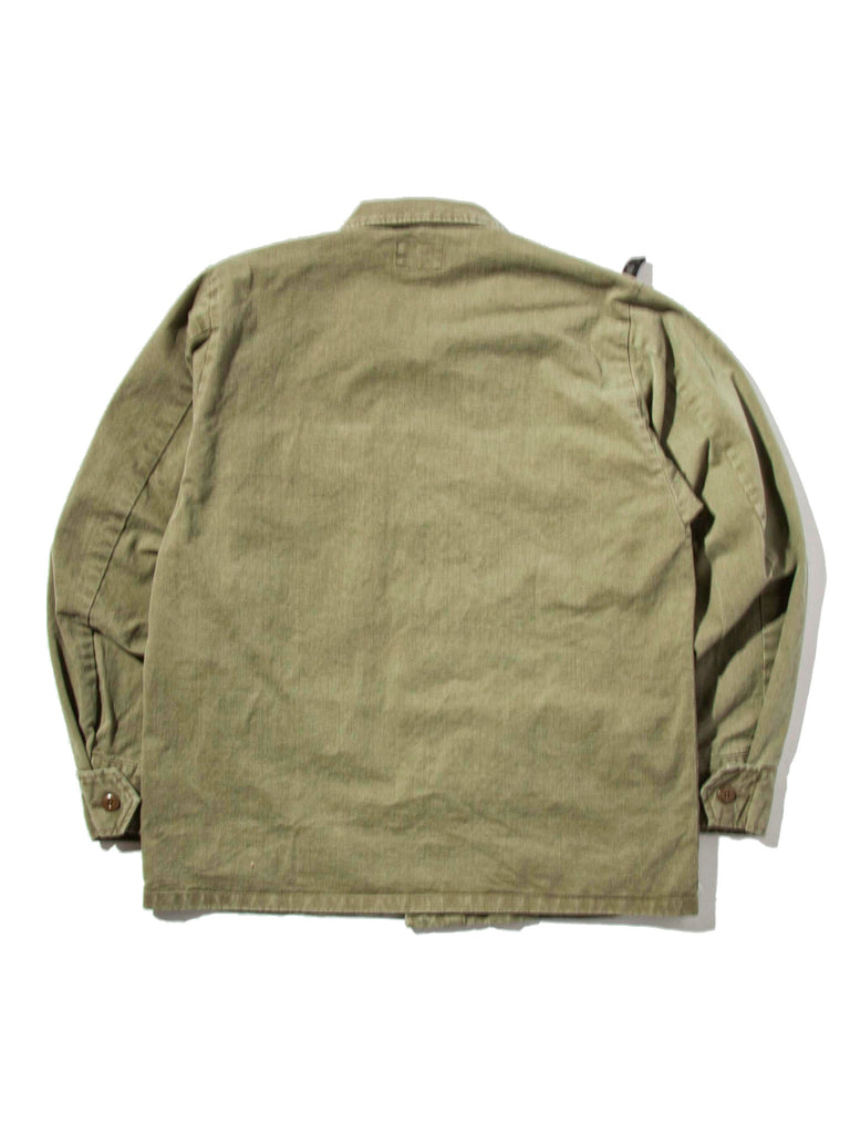 Olive Drab Jungle Shirt (Cotton Chino) 519674745353