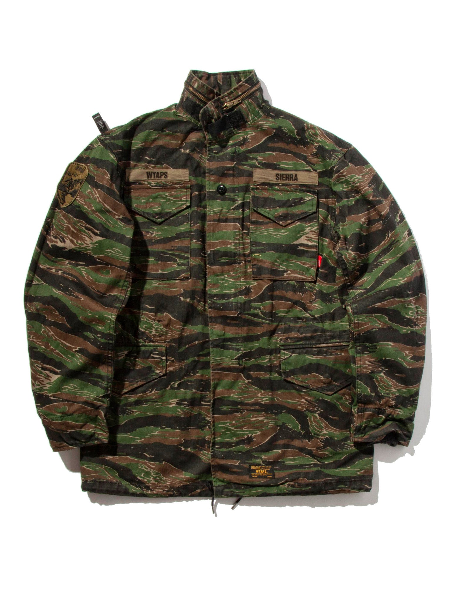 Tiger Stripe M-65 Jacket (Cotton Twill) 6