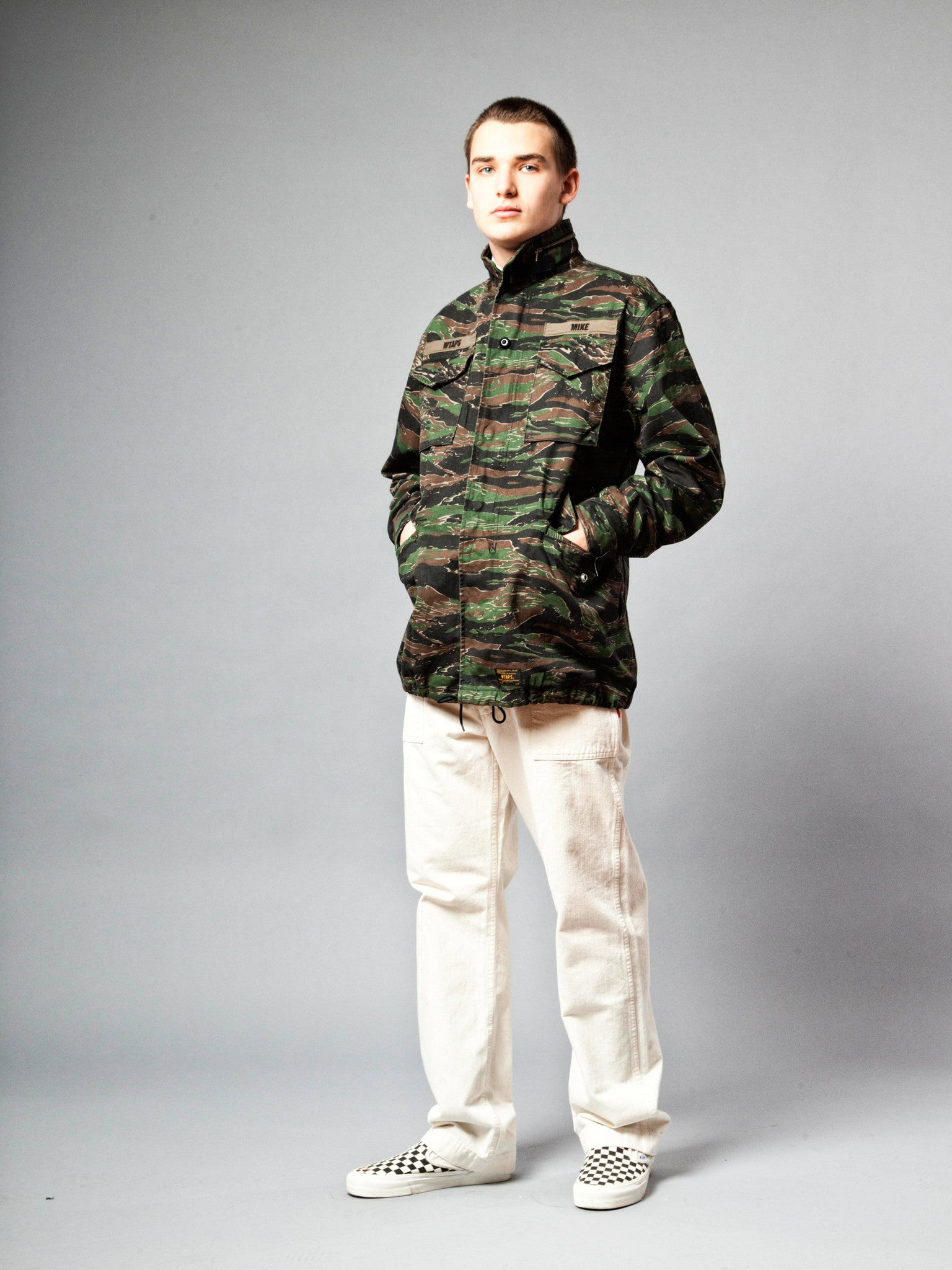 Tiger Stripe M-65 Jacket (Cotton Twill) 3