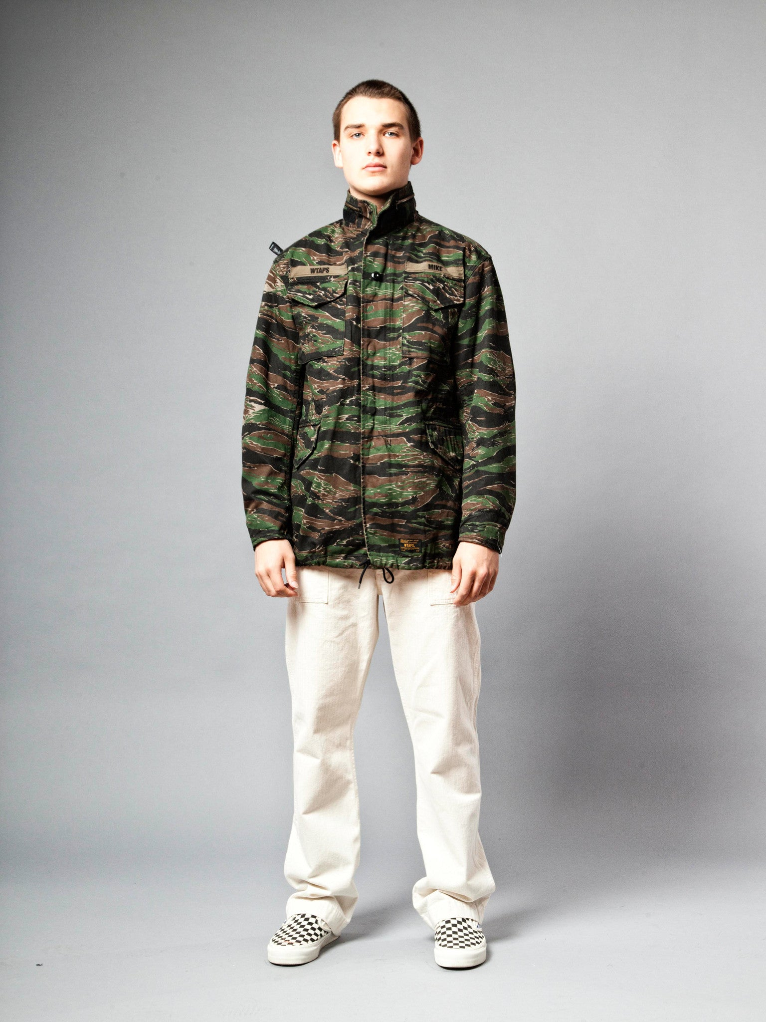 Tiger Stripe M-65 Jacket (Cotton Twill) 2