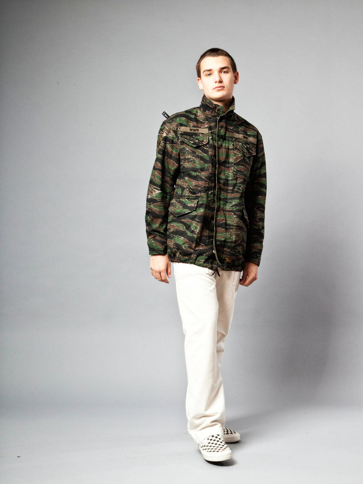 Tiger Stripe M-65 Jacket (Cotton Twill) 5