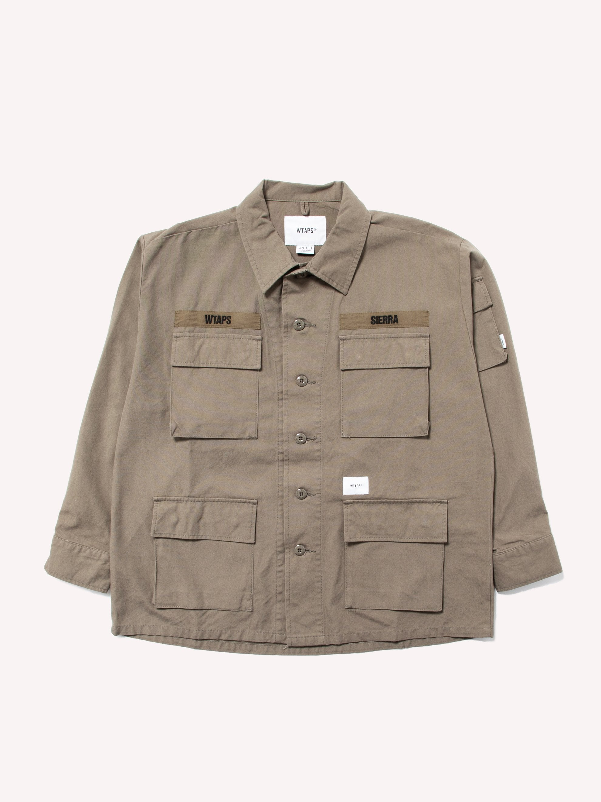 Olive Drab Jungle LS / Shirt Cotton Canvas 1
