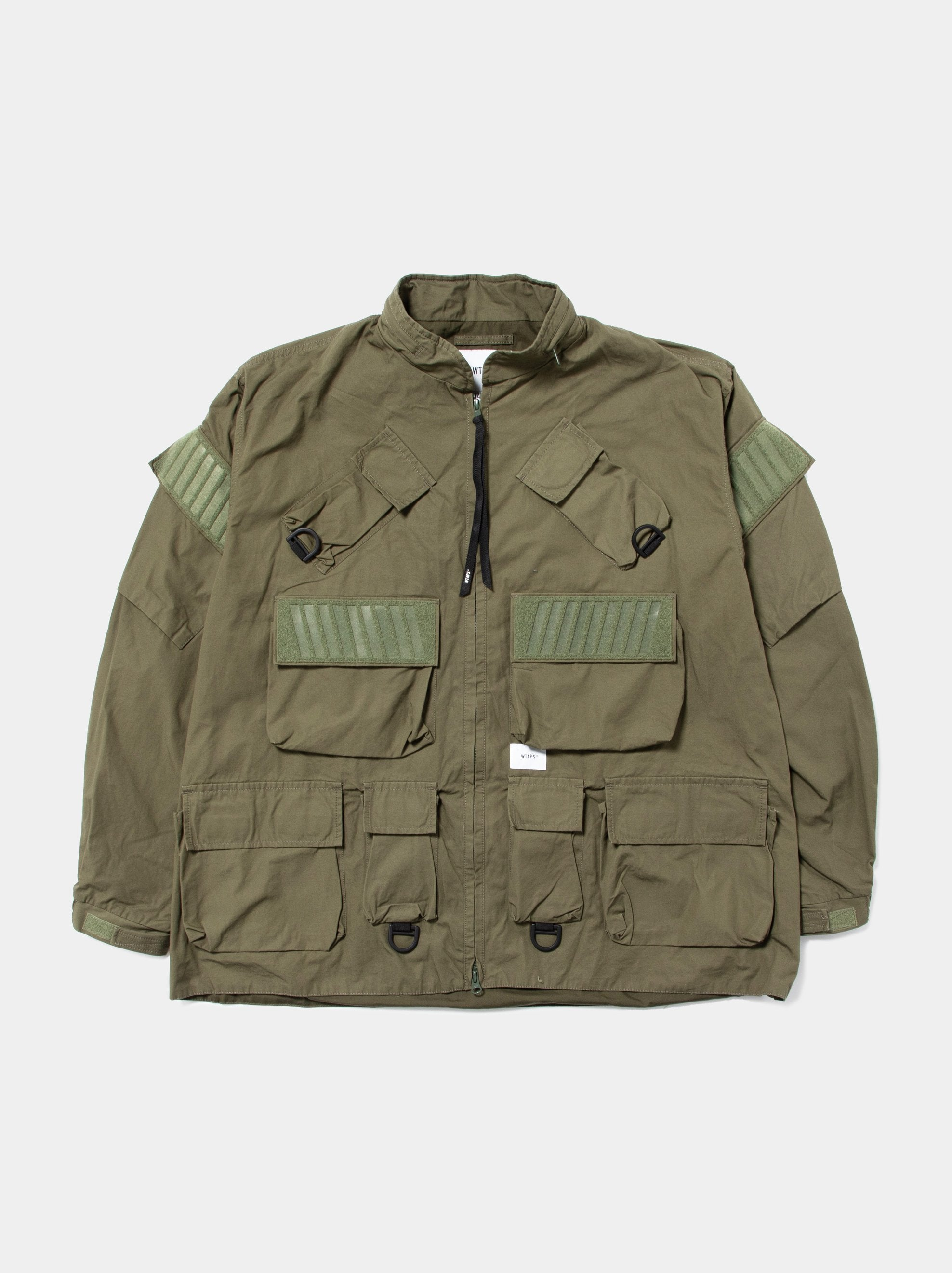 Olive Drab Modular / Jacket. Cotton. Weather 1