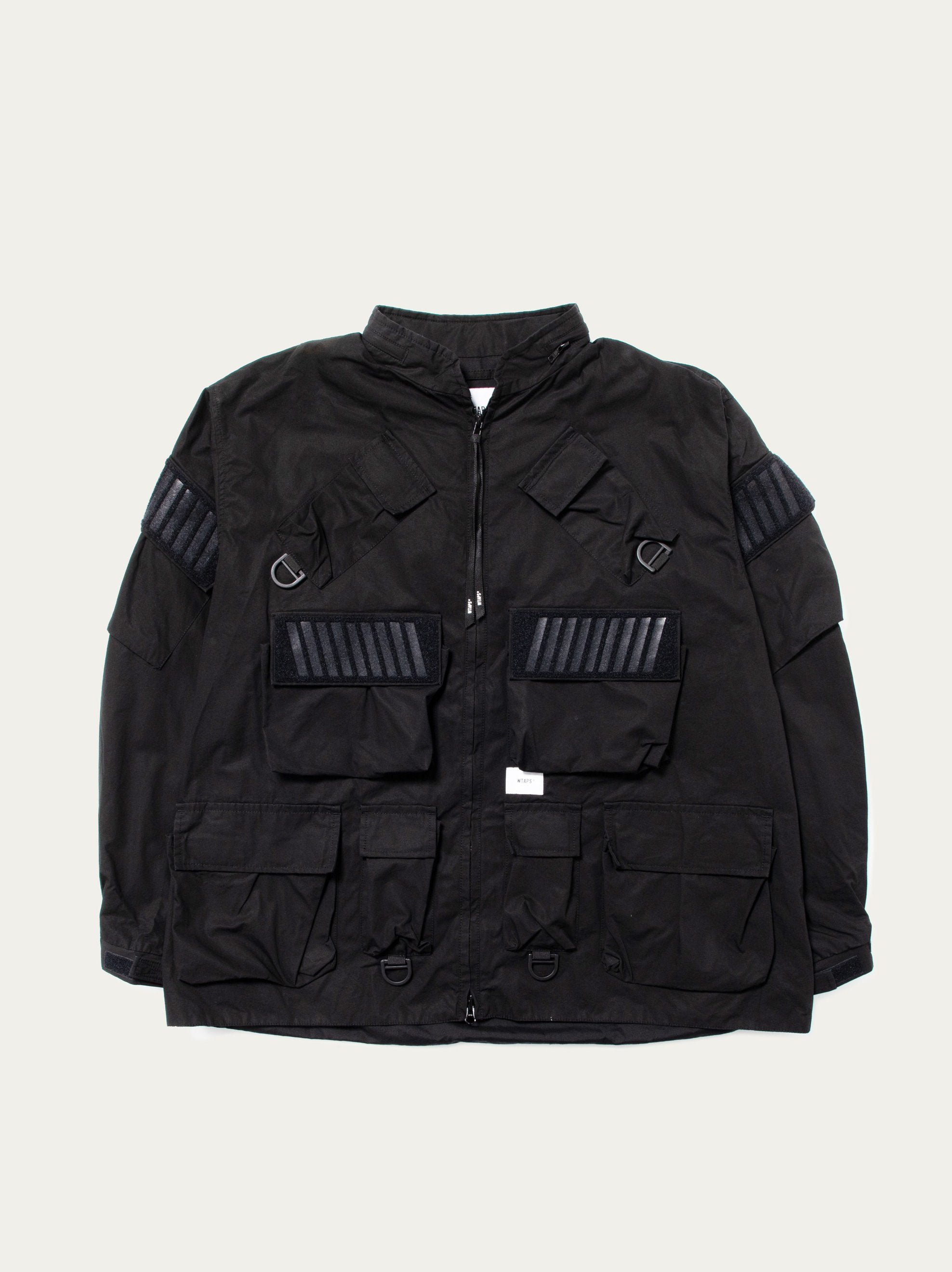 Black Modular / Jacket. Cotton. Weather 1