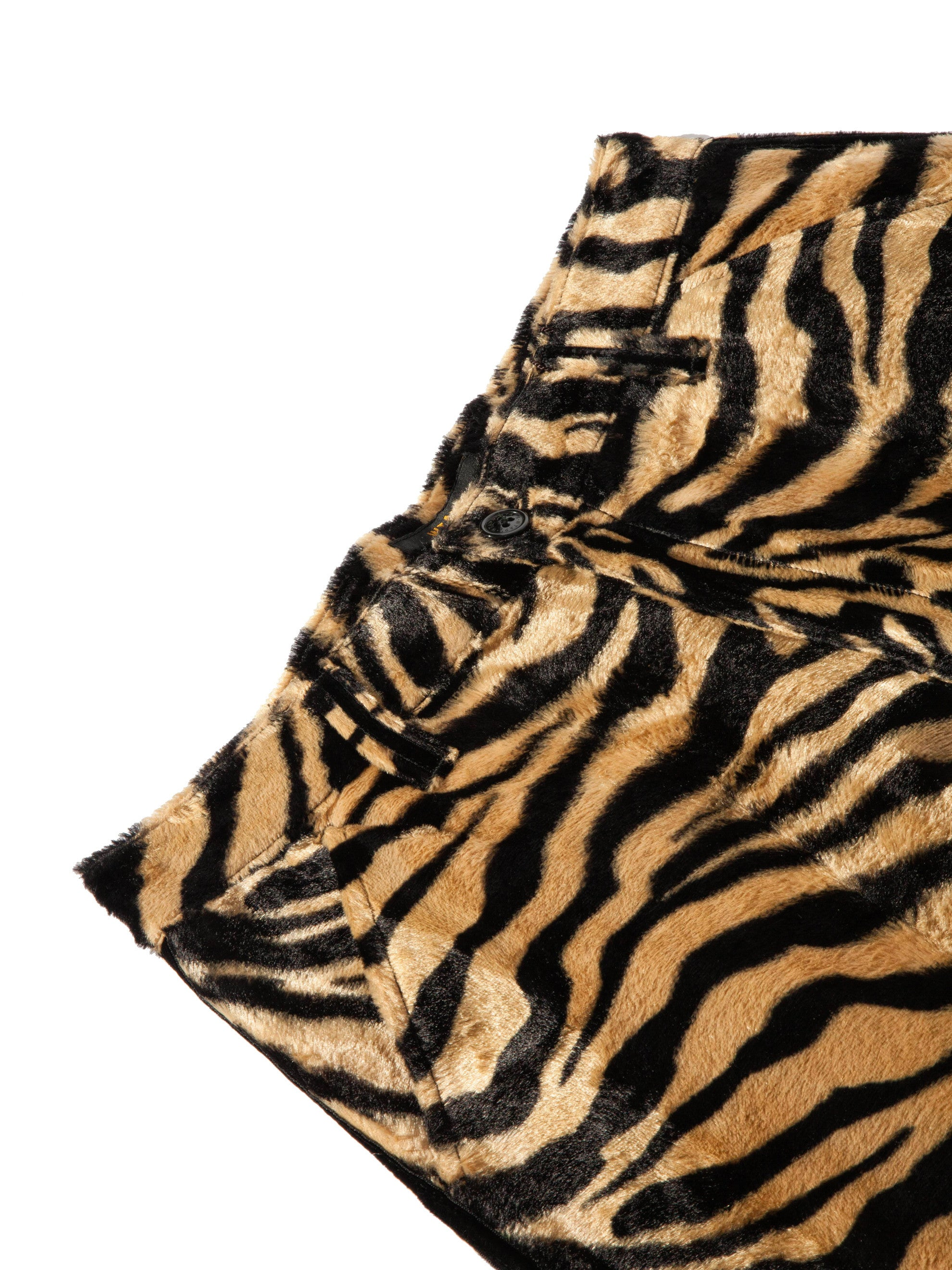 Tiger Stripe Paw Shorts 8