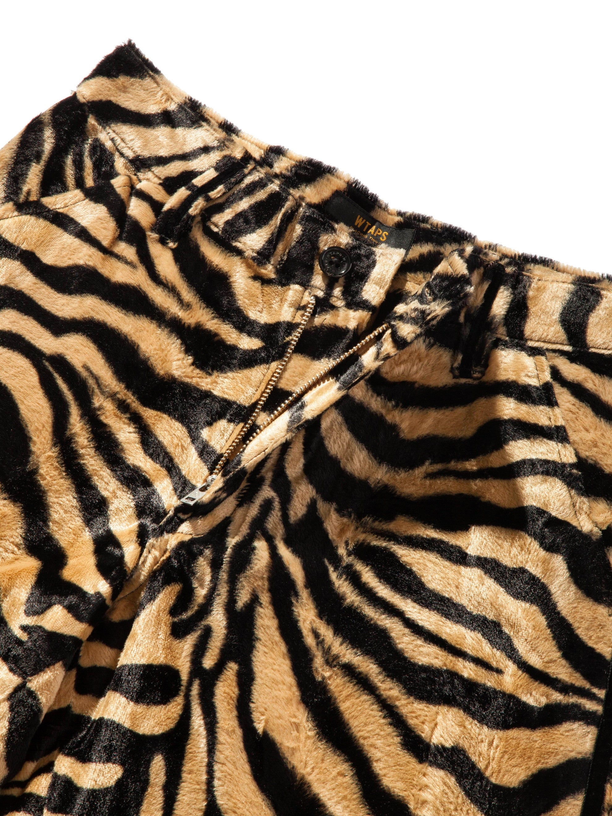 Tiger Stripe Paw Shorts 9