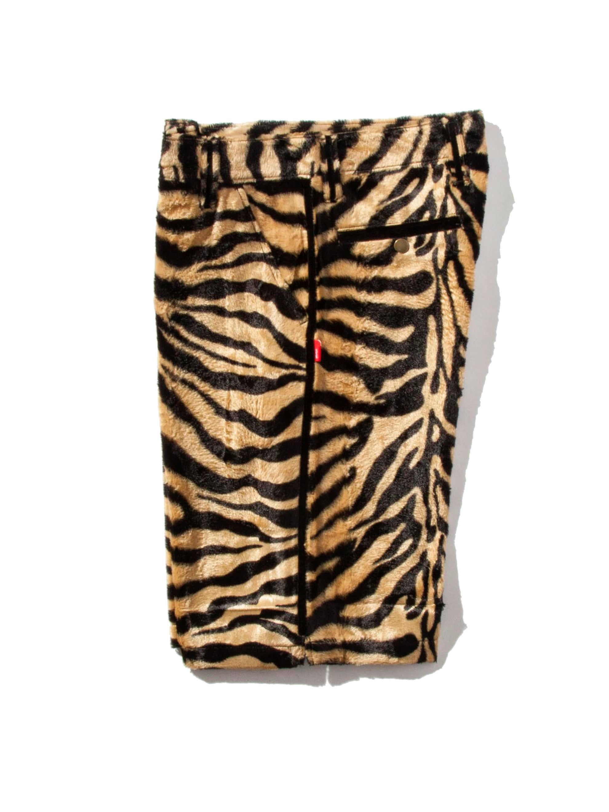 Tiger Stripe Paw Shorts 7