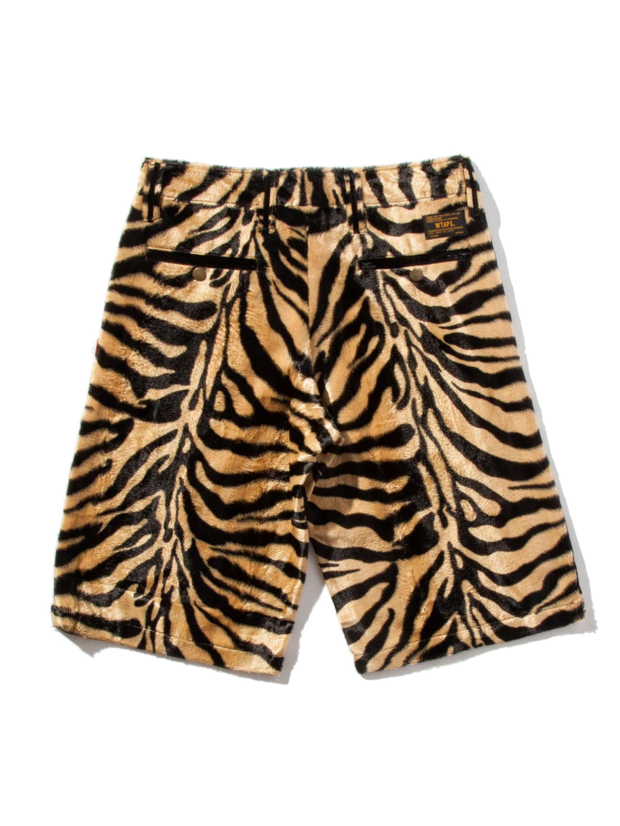Tiger Stripe Paw Shorts 6