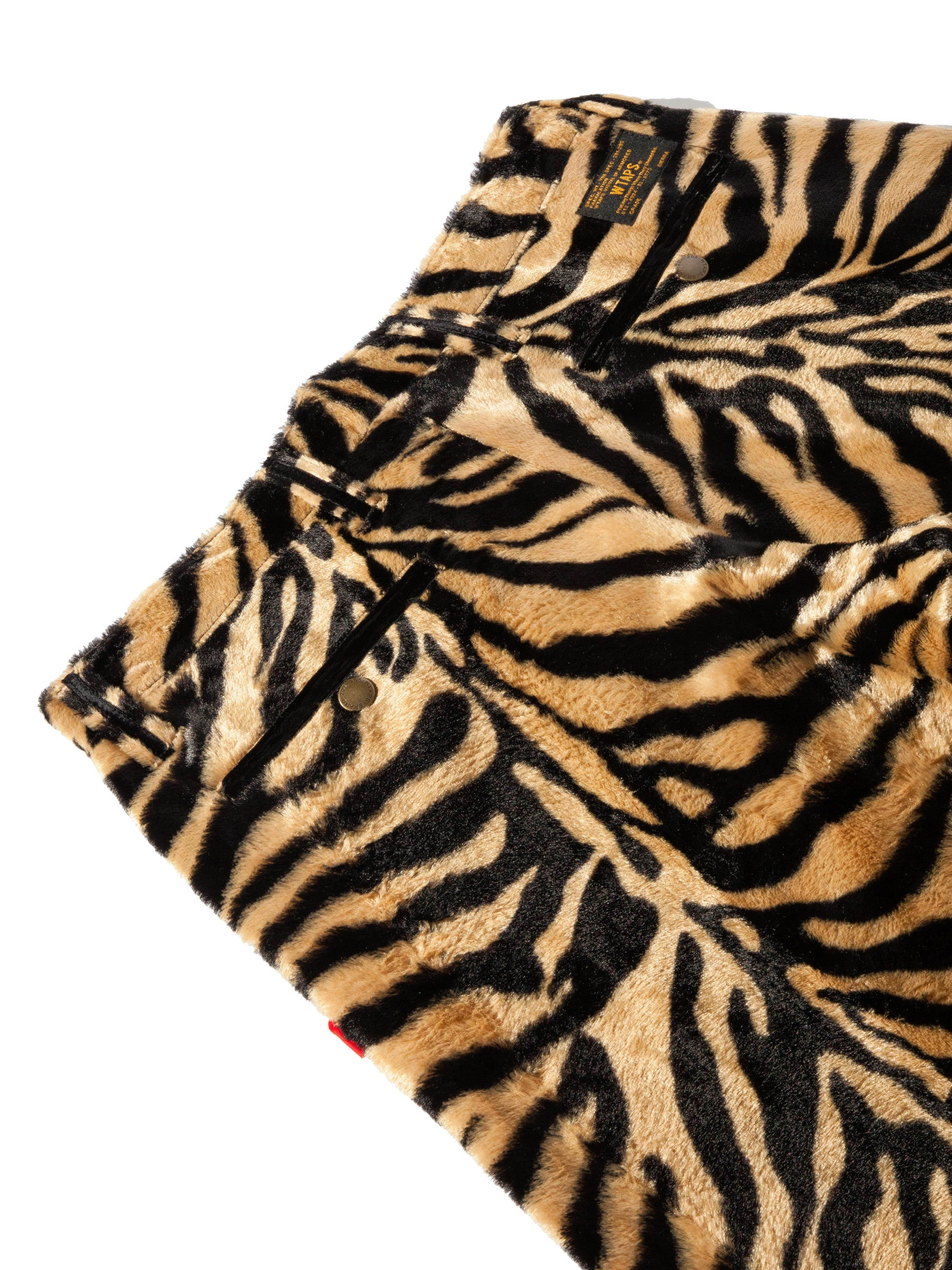 Tiger Stripe Paw Shorts 10
