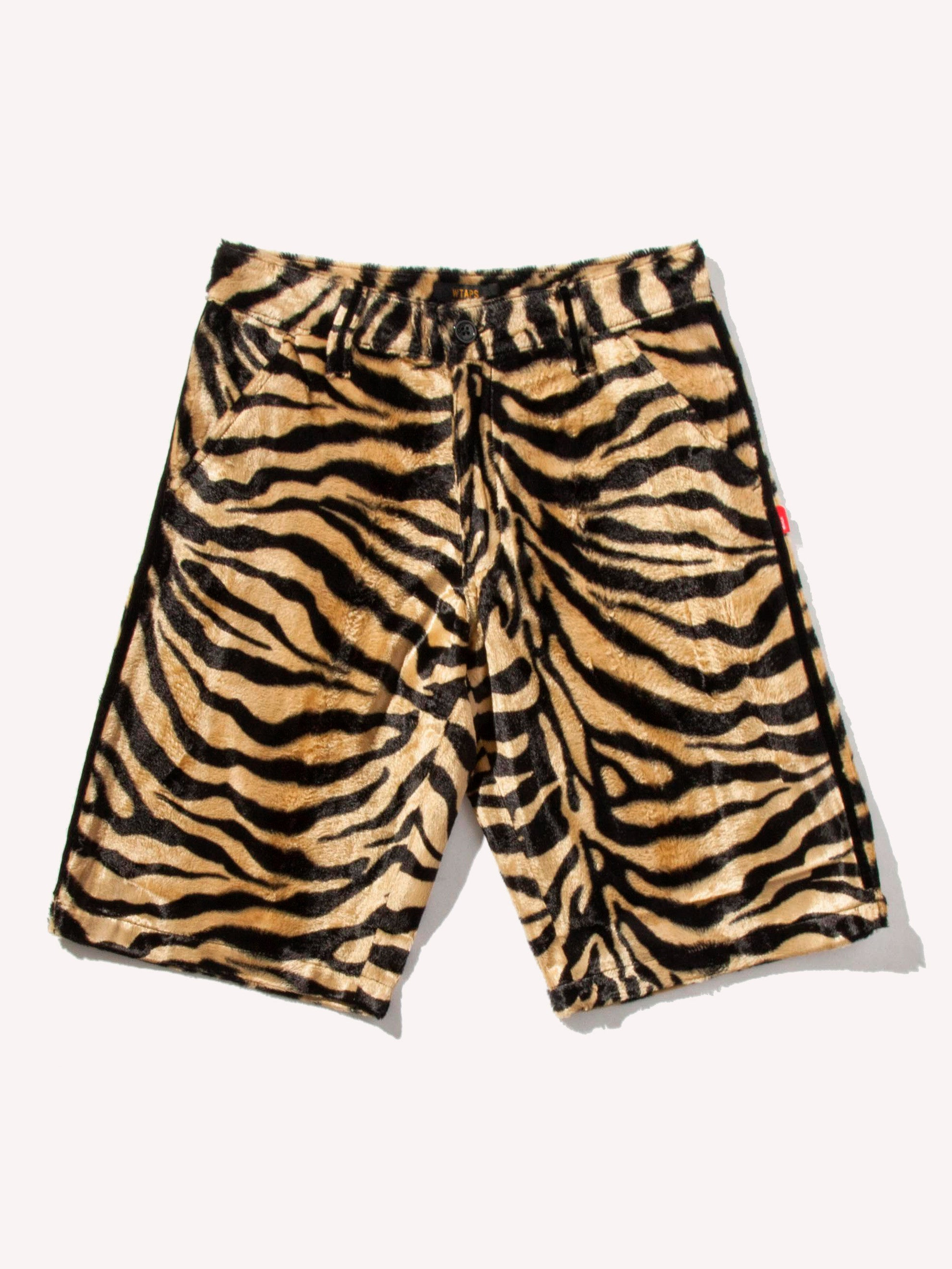 Tiger Stripe Paw Shorts 1