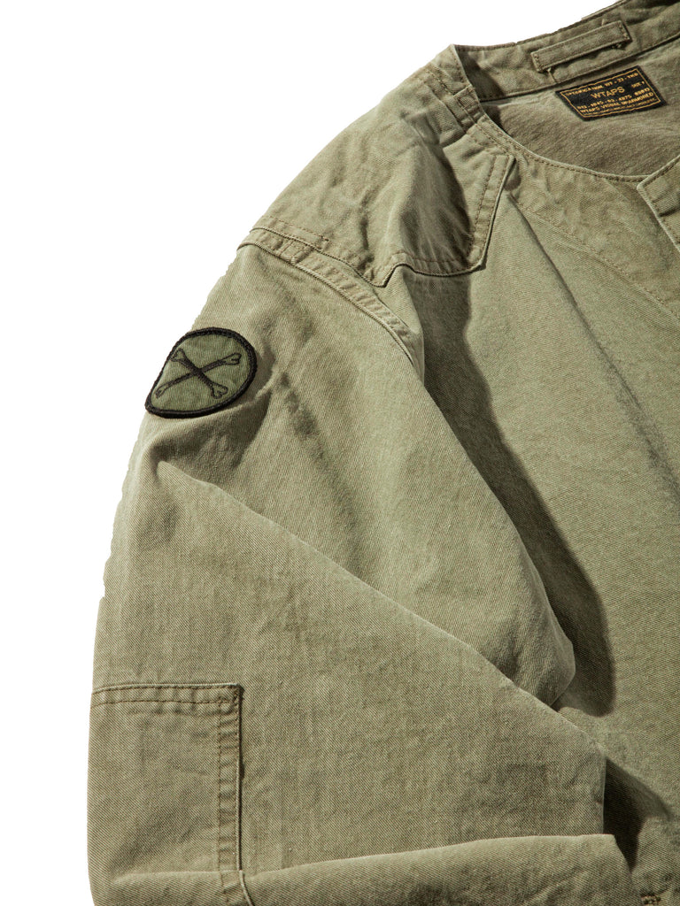 Olive Drab Scout LS 02 Shirt (Cotton Chino) 1020632606025
