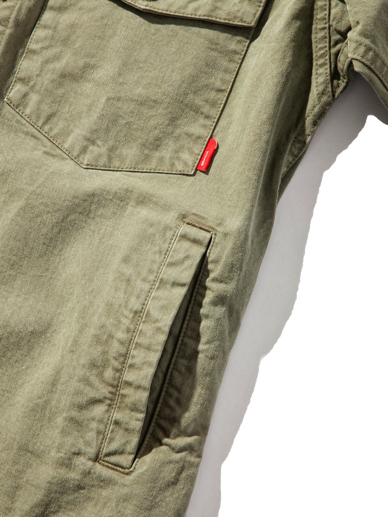 Olive Drab Scout LS 02 Shirt (Cotton Chino) 1120632608329