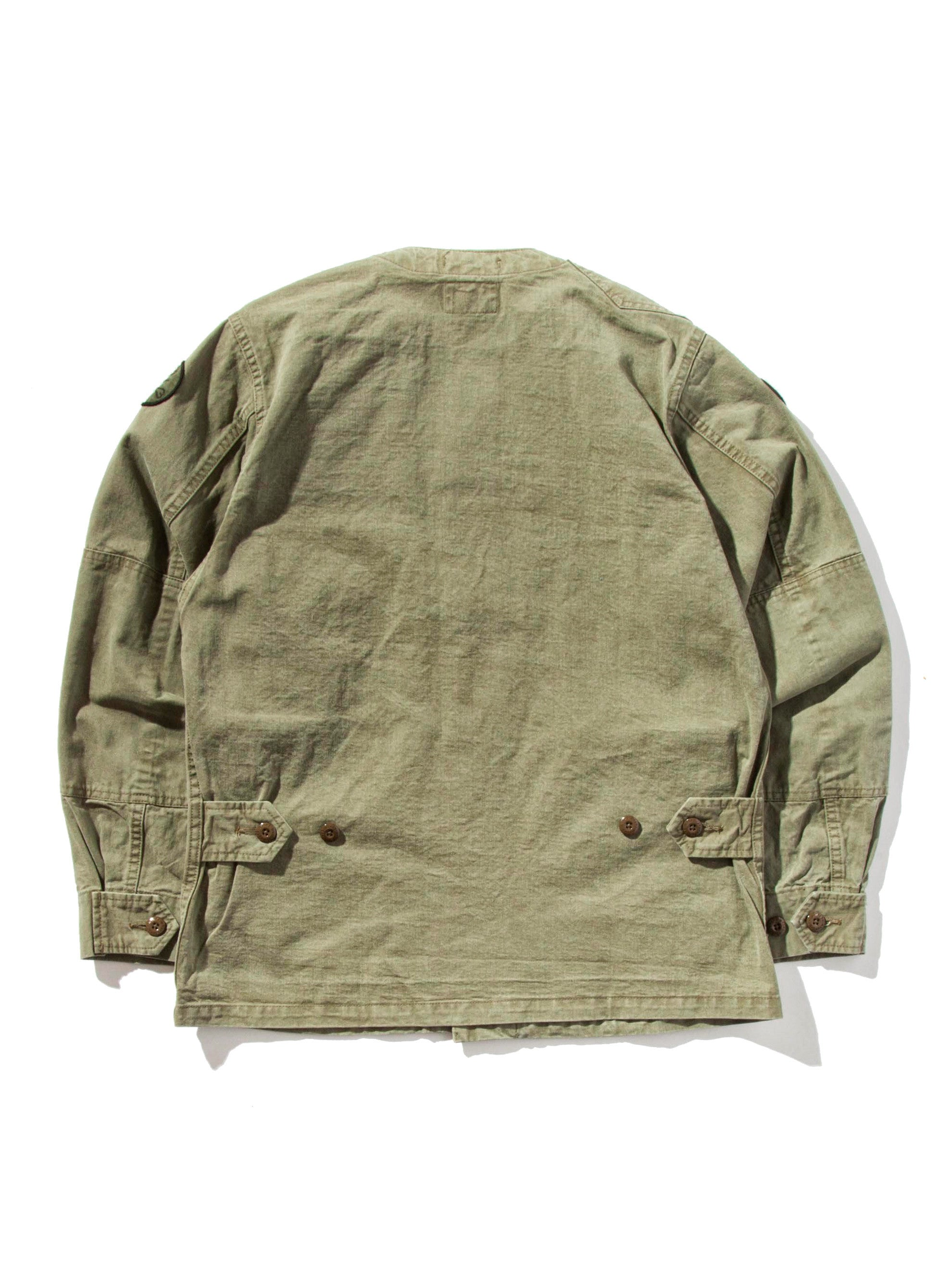 Olive Drab Scout LS 02 Shirt (Cotton Chino) 8