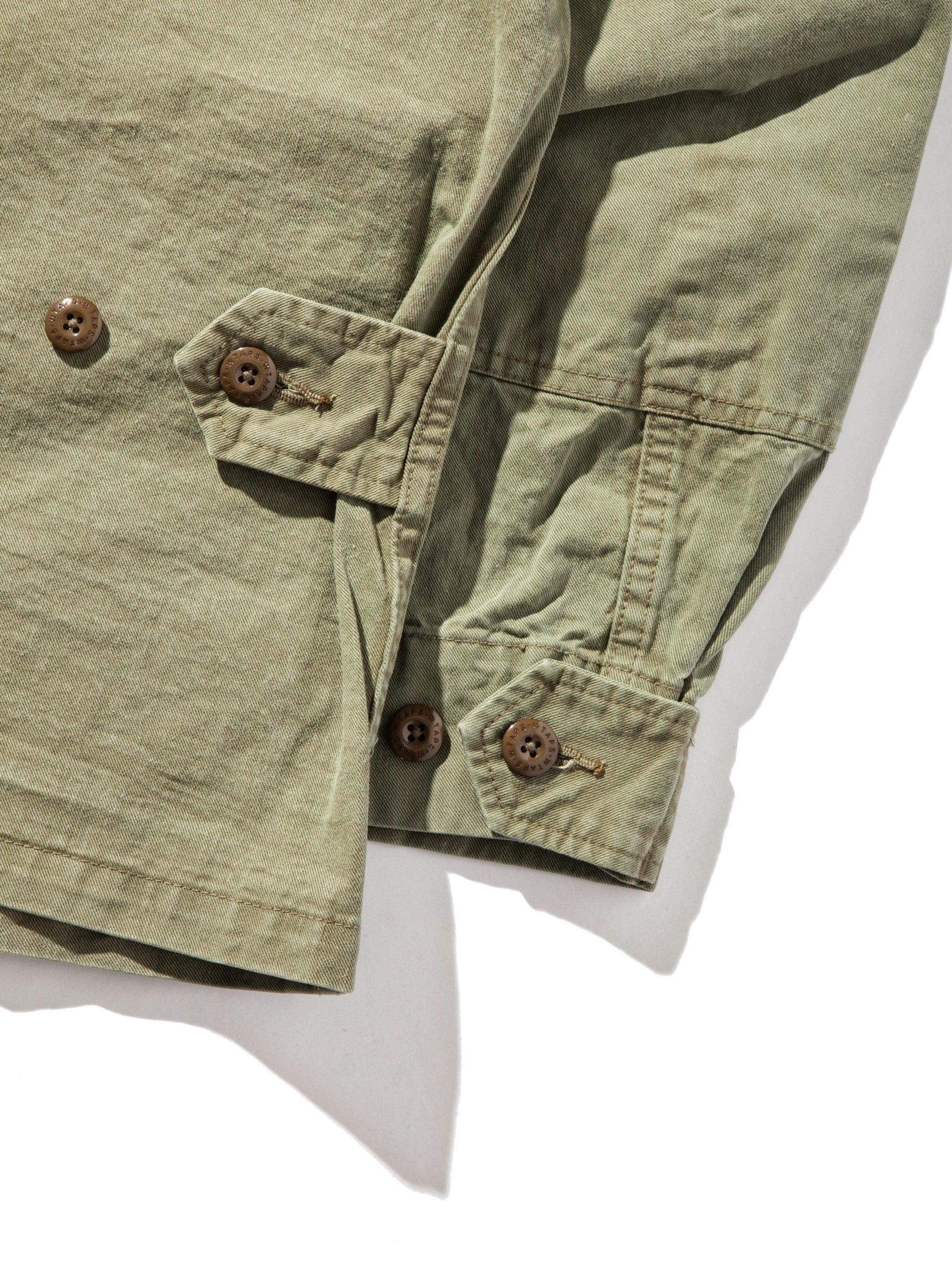 Olive Drab Scout LS 02 Shirt (Cotton Chino) 12
