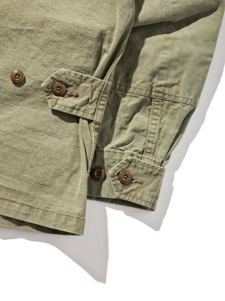 Olive Drab Scout LS 02 Shirt (Cotton Chino) 1220632610441