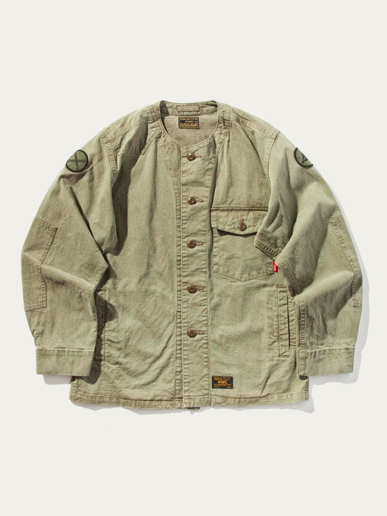 Olive Drab Scout LS 02 Shirt (Cotton Chino) 720632622345
