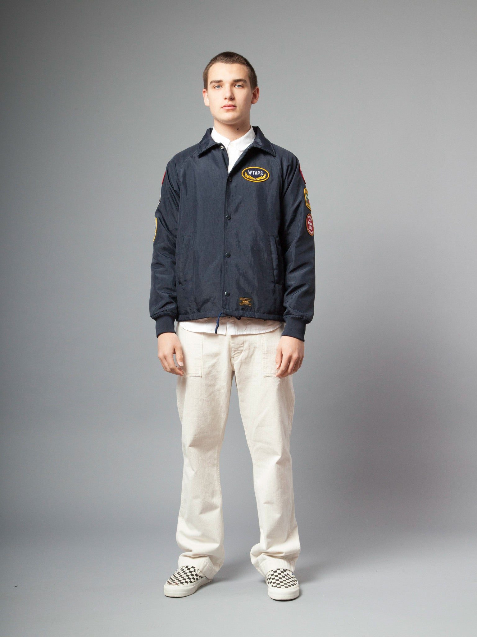 Navy Souvenir Jacket (Nylon) 2