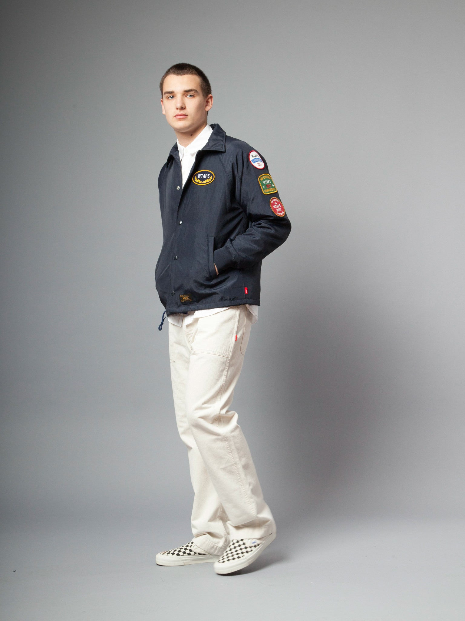 Navy Souvenir Jacket (Nylon) 4