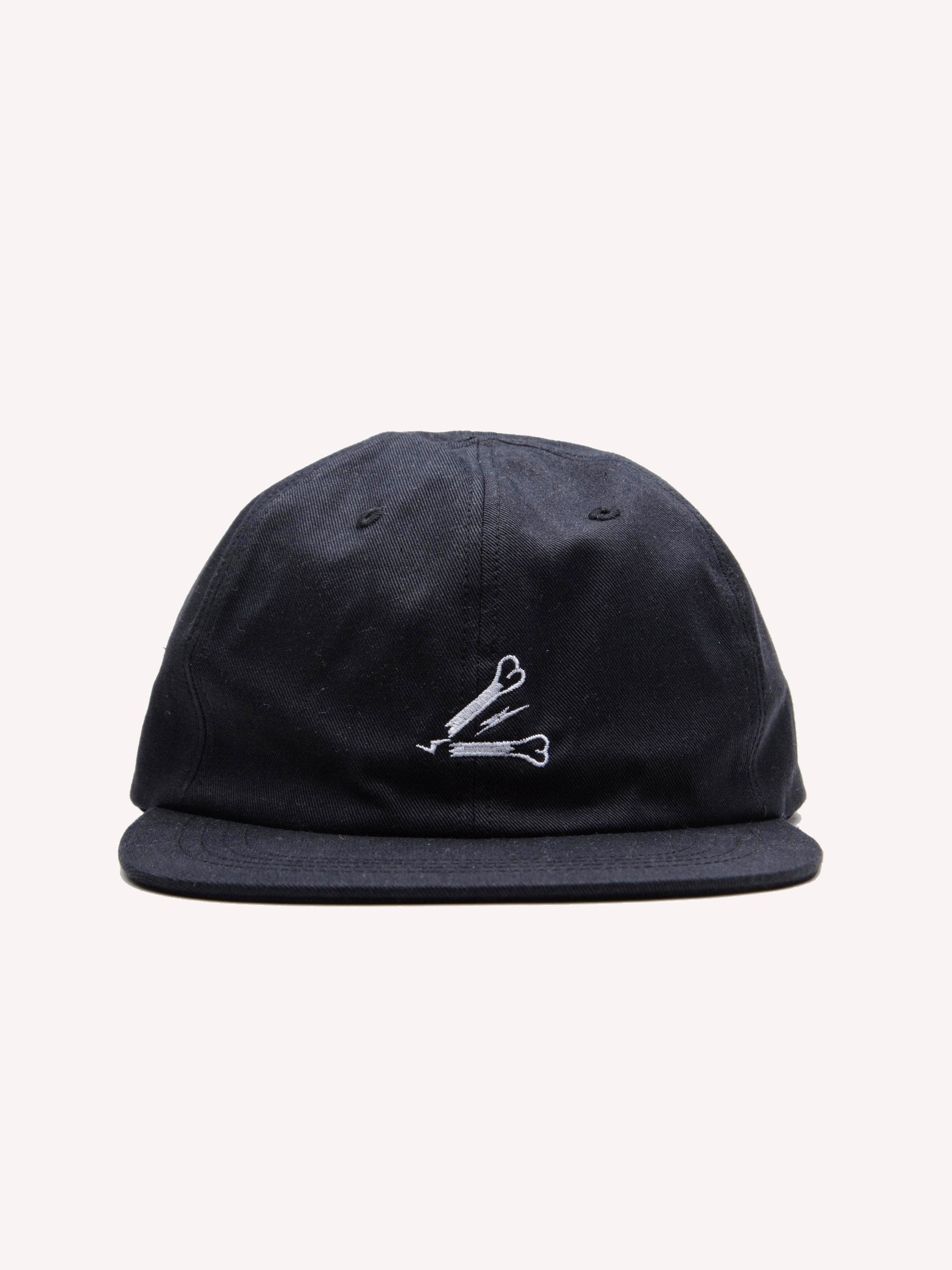 Black T-6 Cap (Cotton Chino) 1