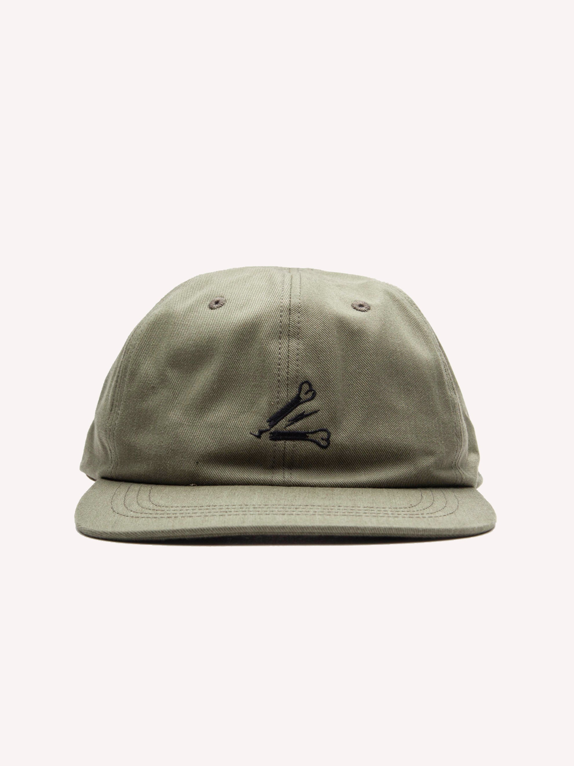 Olive Drab T-6 Cap (Cotton Chino) 3