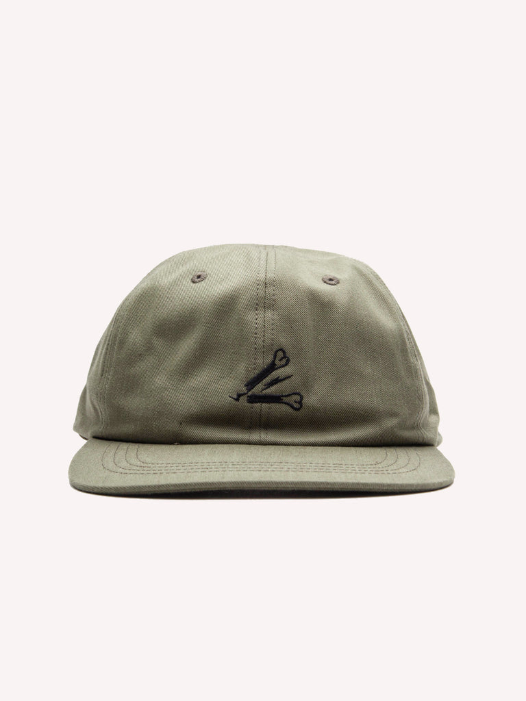 Olive Drab T-6 Cap (Cotton Chino) 320632535689
