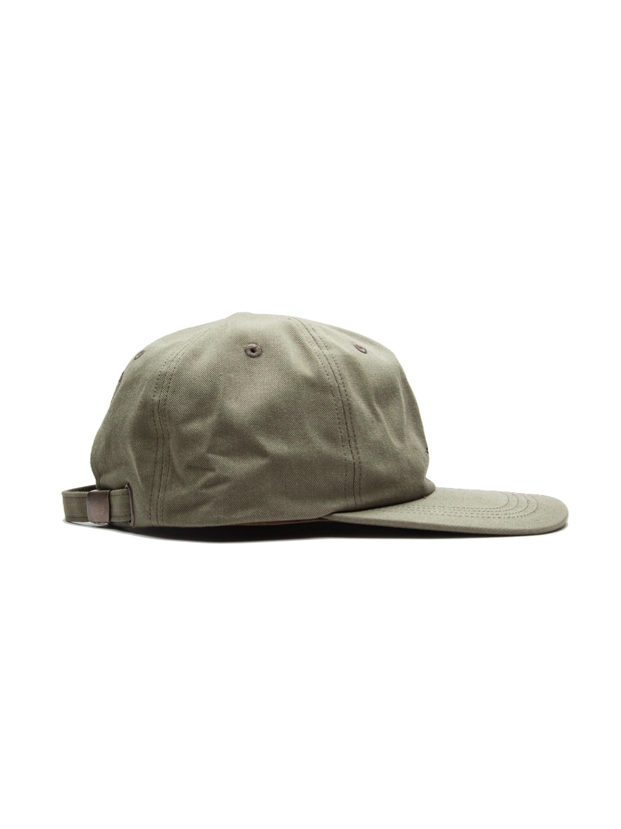 Olive Drab T-6 Cap (Cotton Chino) 4
