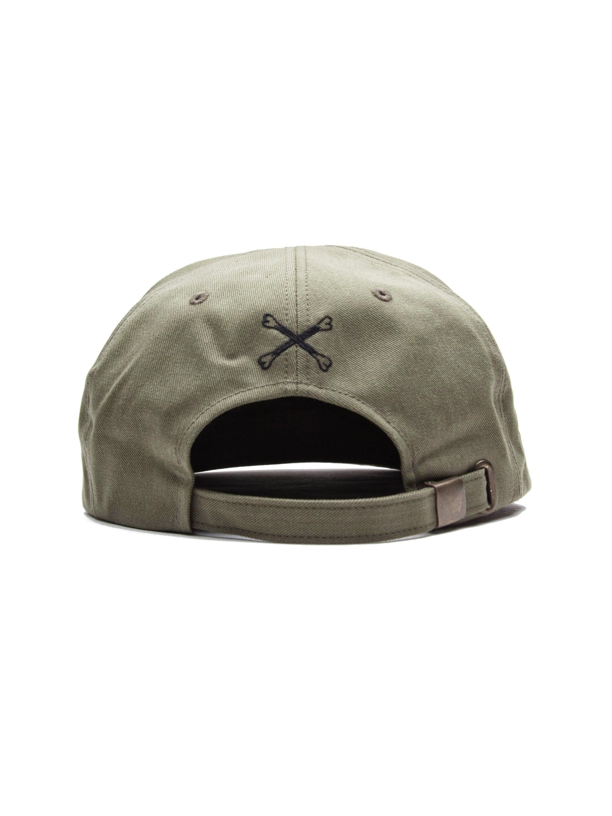 Olive Drab T-6 Cap (Cotton Chino) 5