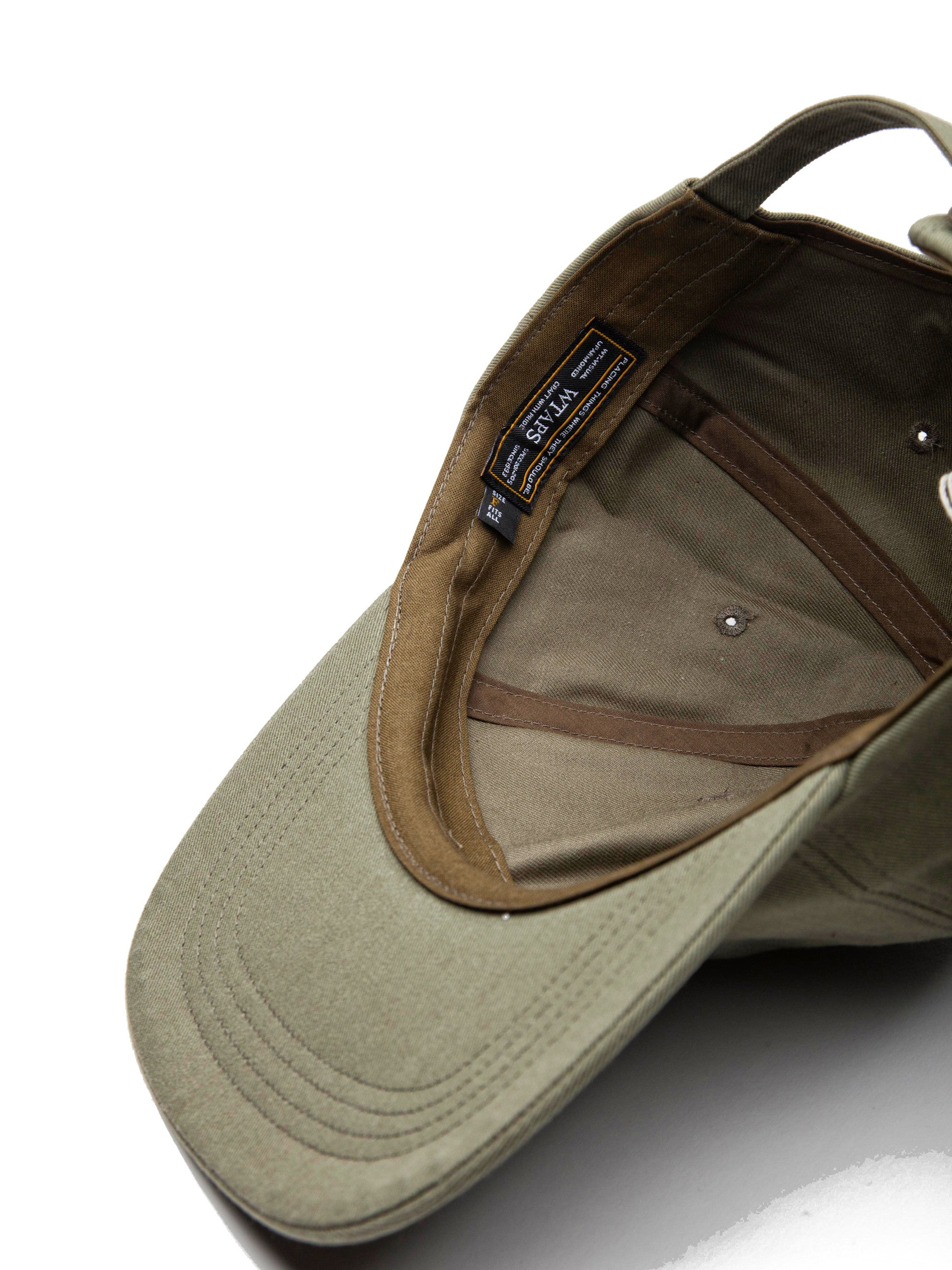 Olive Drab T-6 Cap (Cotton Chino) 6