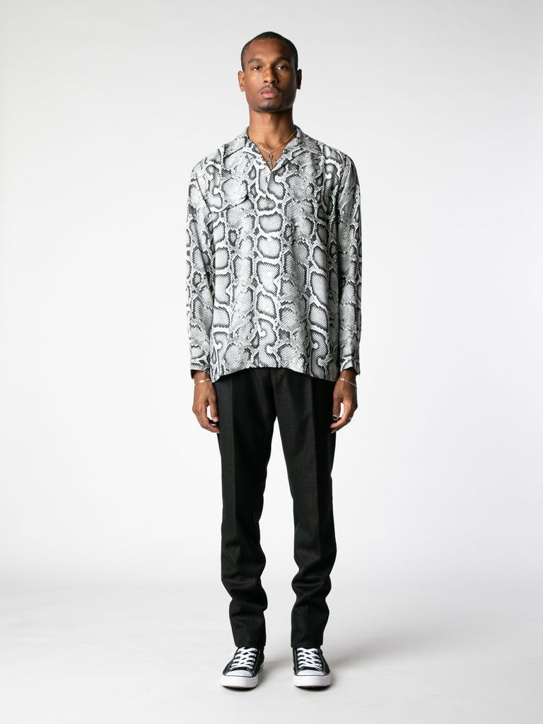 White Hawaiian Shirt L/S (Type-1) 313570038399053