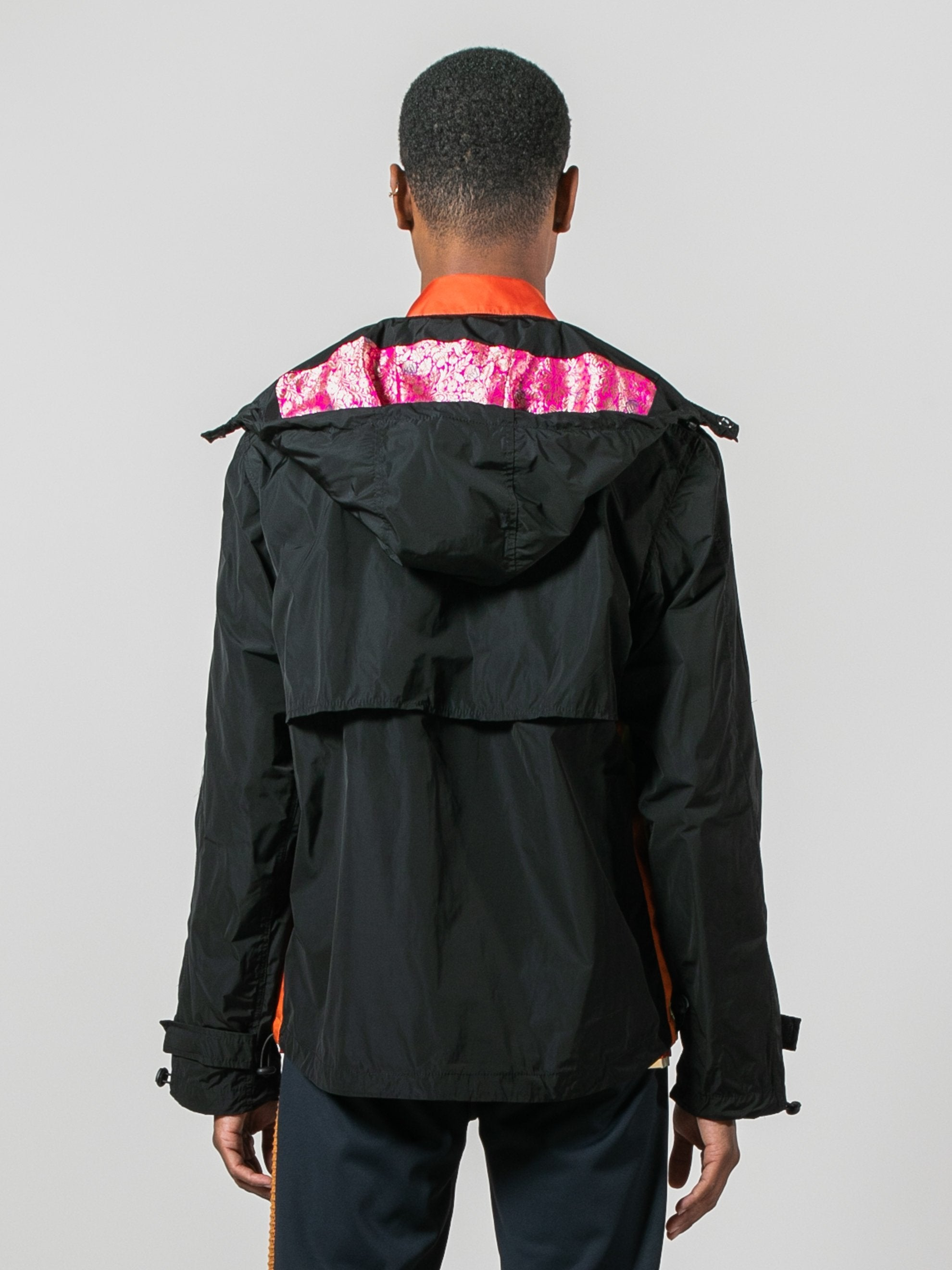 Patchwork Anorak Jacket