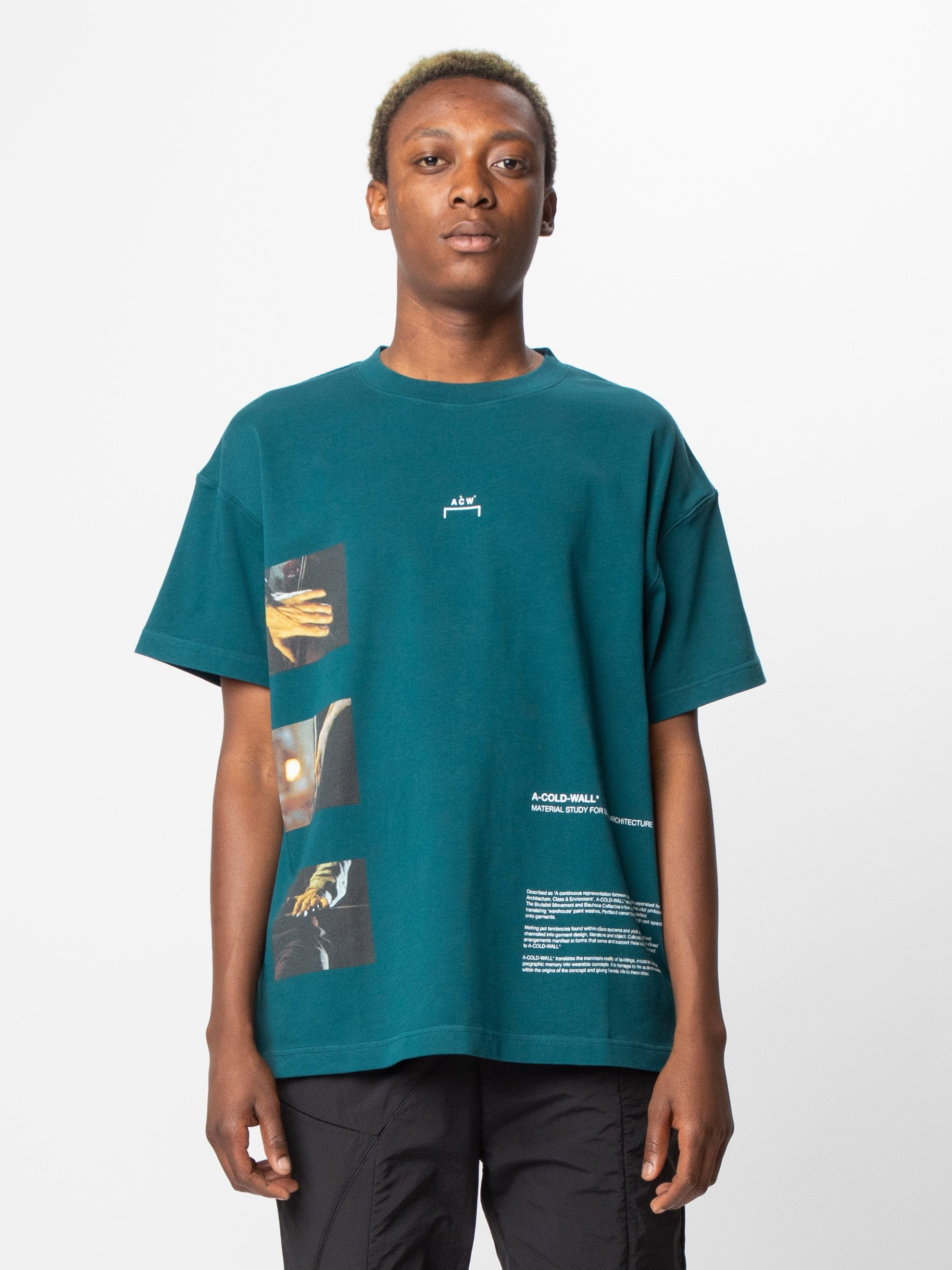 Deep Teal Glass Blower T-Shirt 2