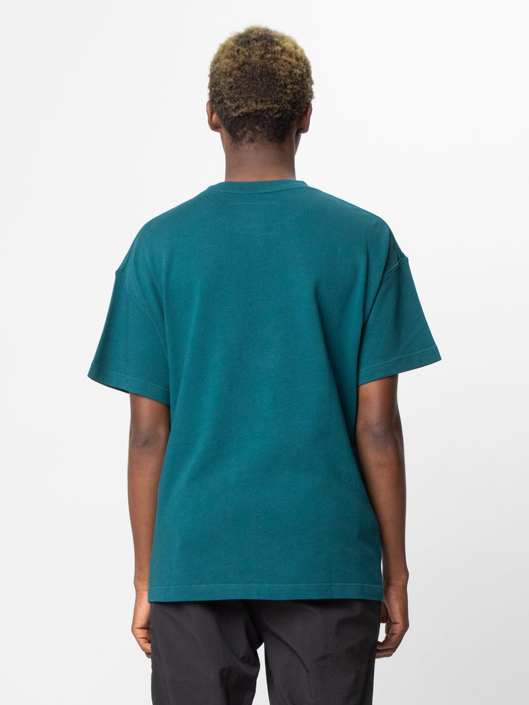 Deep Teal Glass Blower T-Shirt 614143437832269