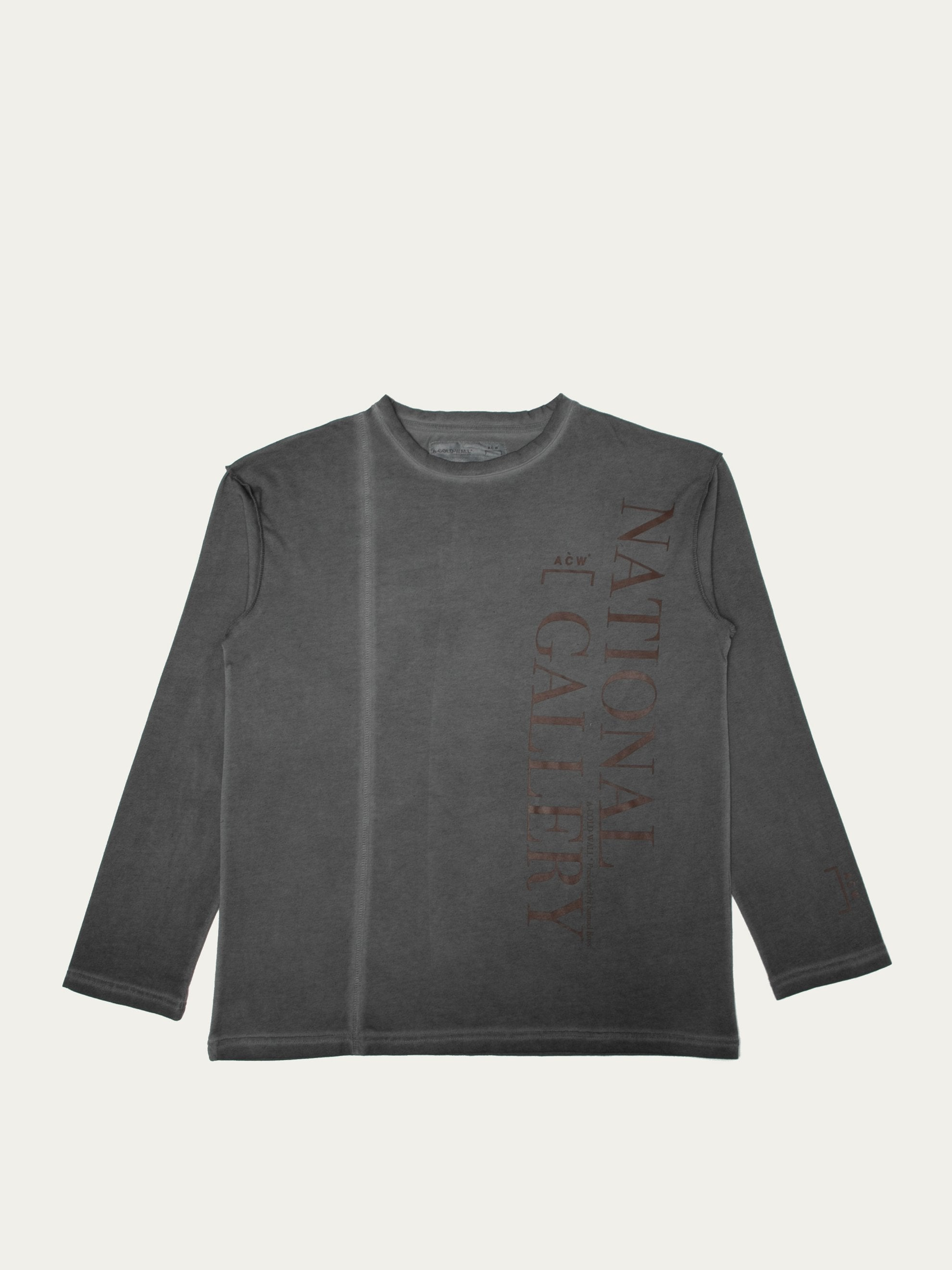 Slate Grey Gallery L/S T-Shirt 1