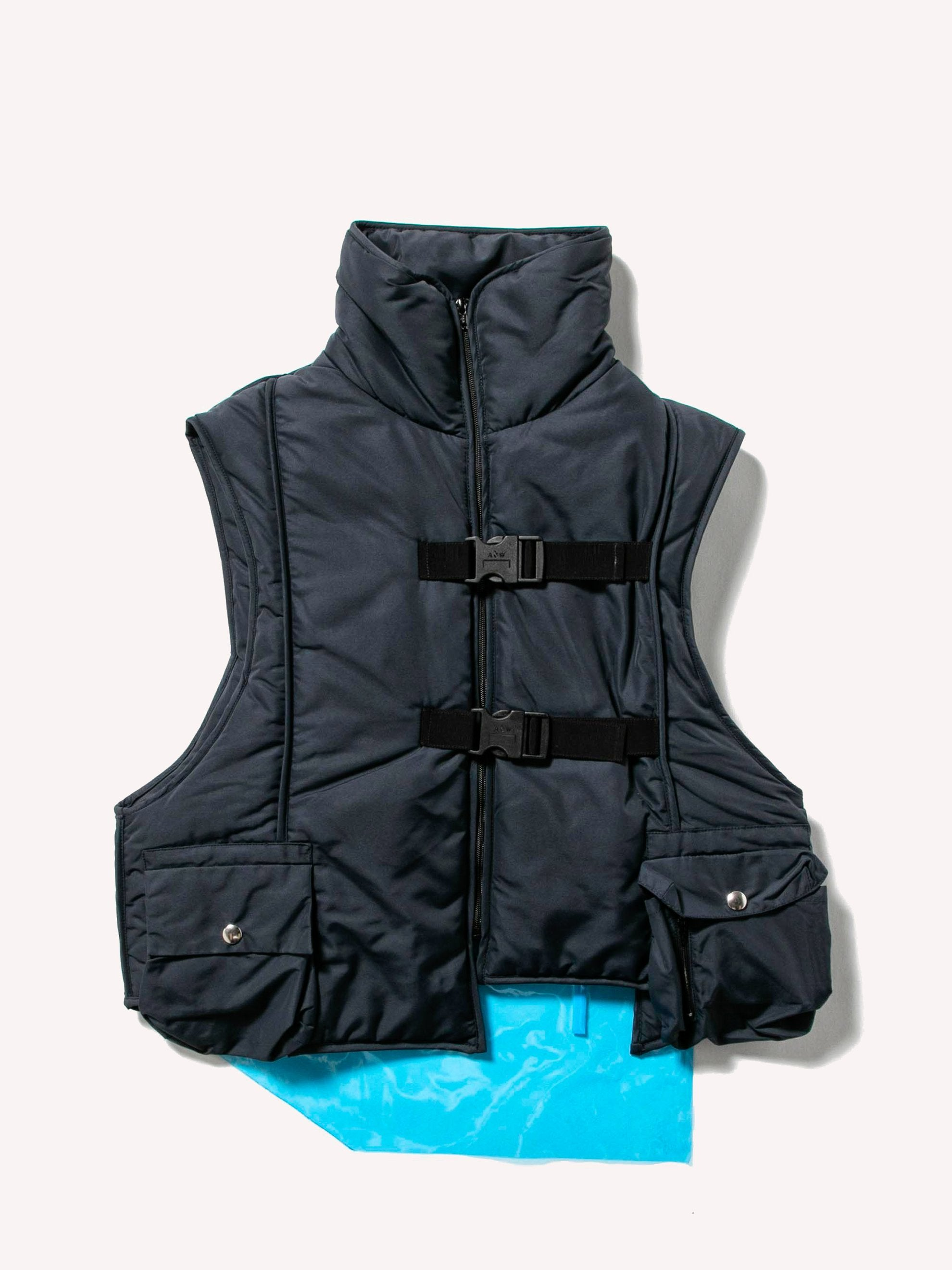 Padded Step Front Vest