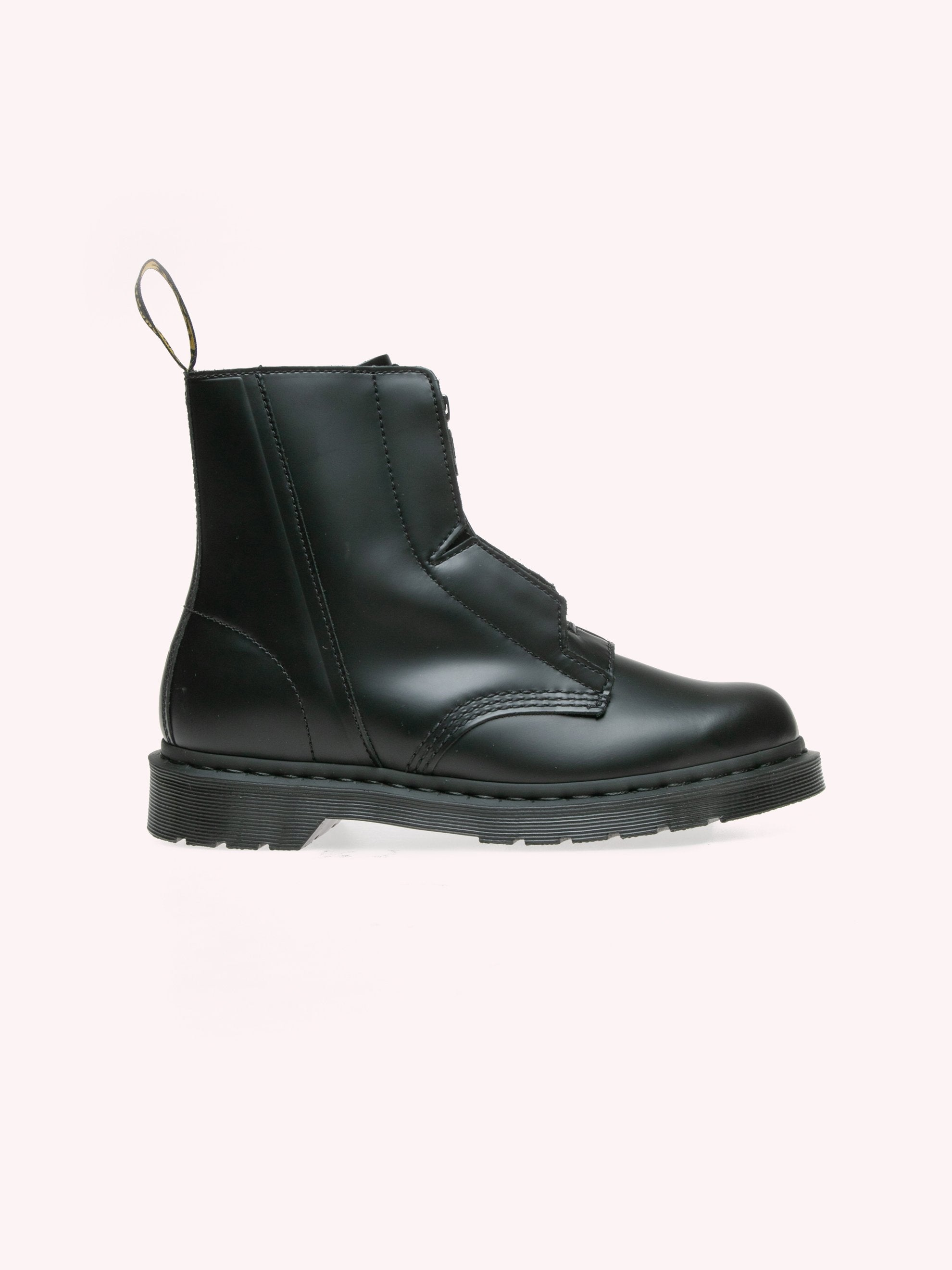 ACW X Dr Martens Zip Up Leather Boots