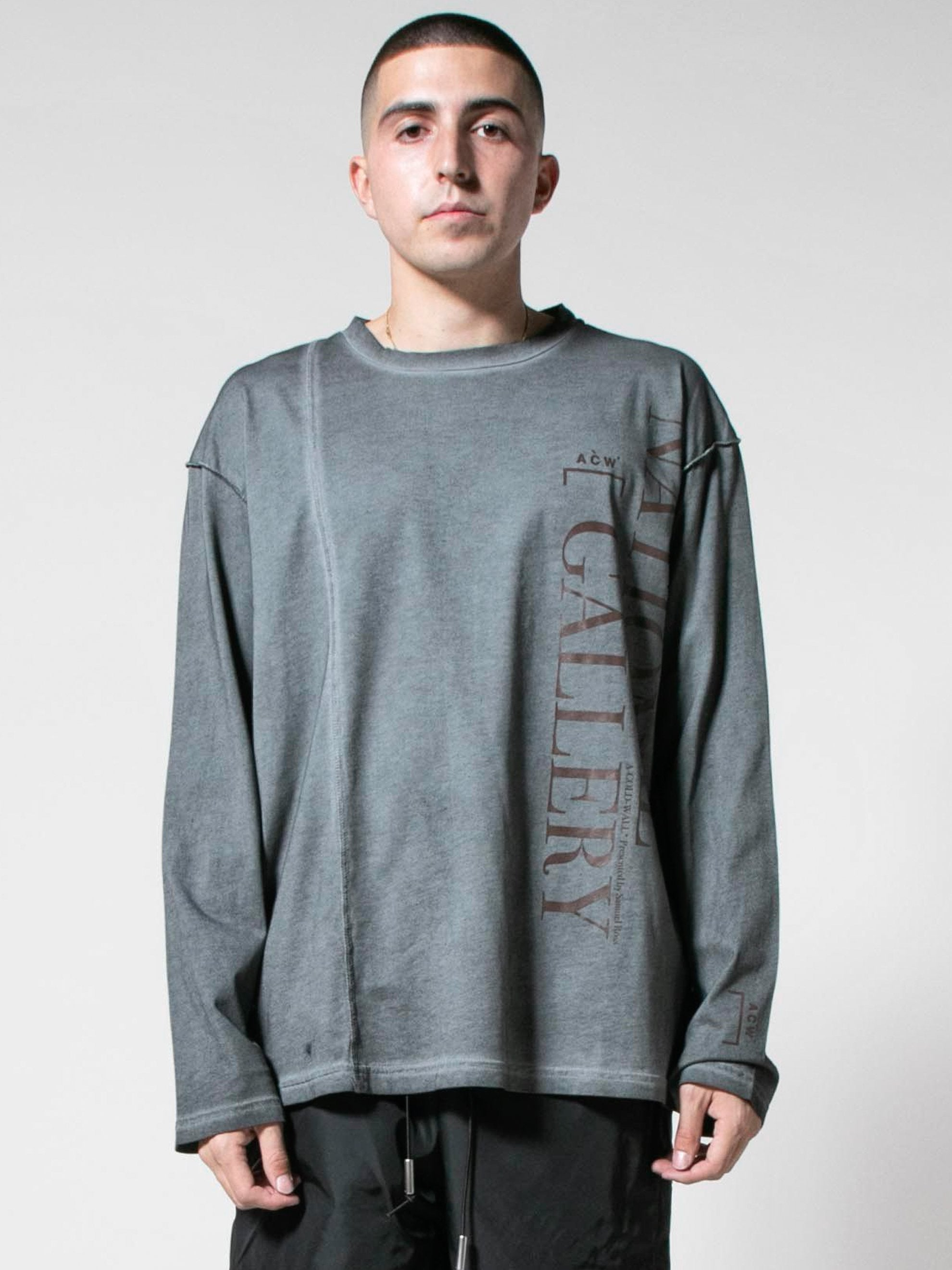 Slate Grey Gallery L/S T-Shirt 2