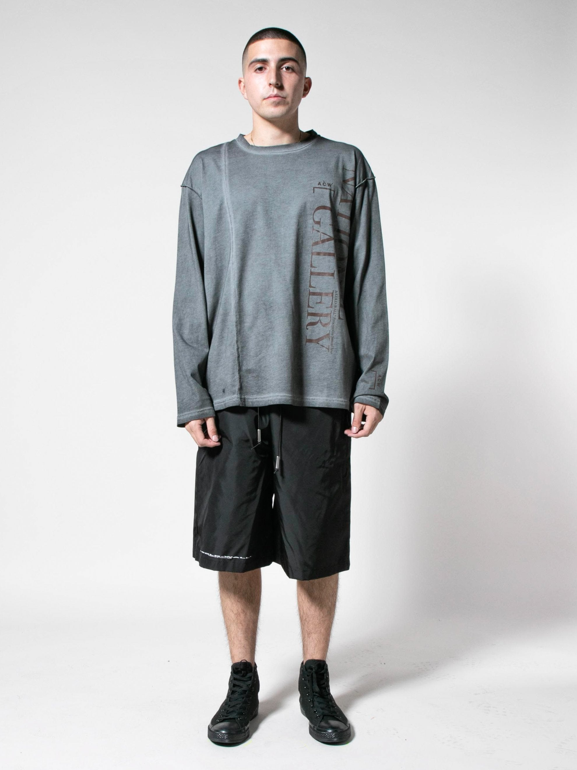 Slate Grey Gallery L/S T-Shirt 3